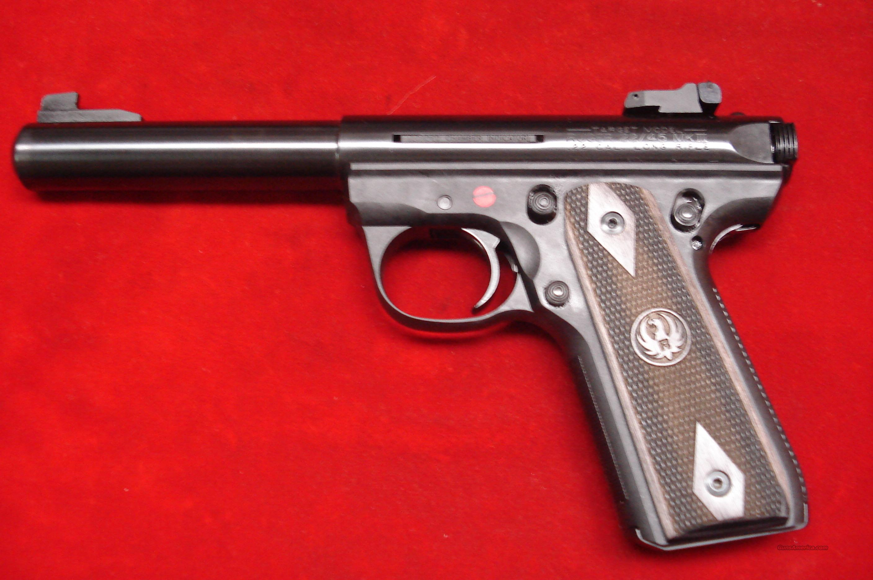 RUGER 22/45RP (REPLACEABLE PANELS) MKIII BULL NEW (P512MKIIIRPBLK)  Guns > Pistols > Ruger Semi-Auto Pistols > Mark I/II/III Family