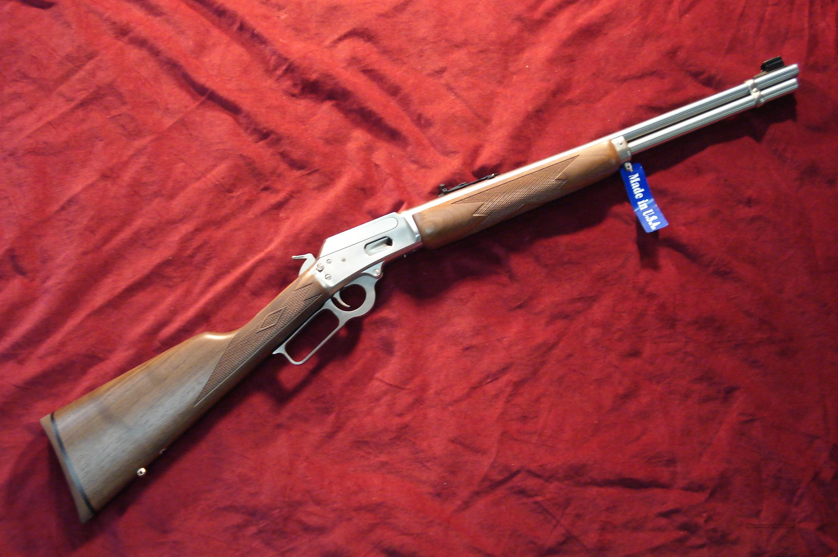 MARLIN 1894SS STAINLESS 44MAG NEW   Guns > Rifles > Marlin Rifles > Modern > Lever Action
