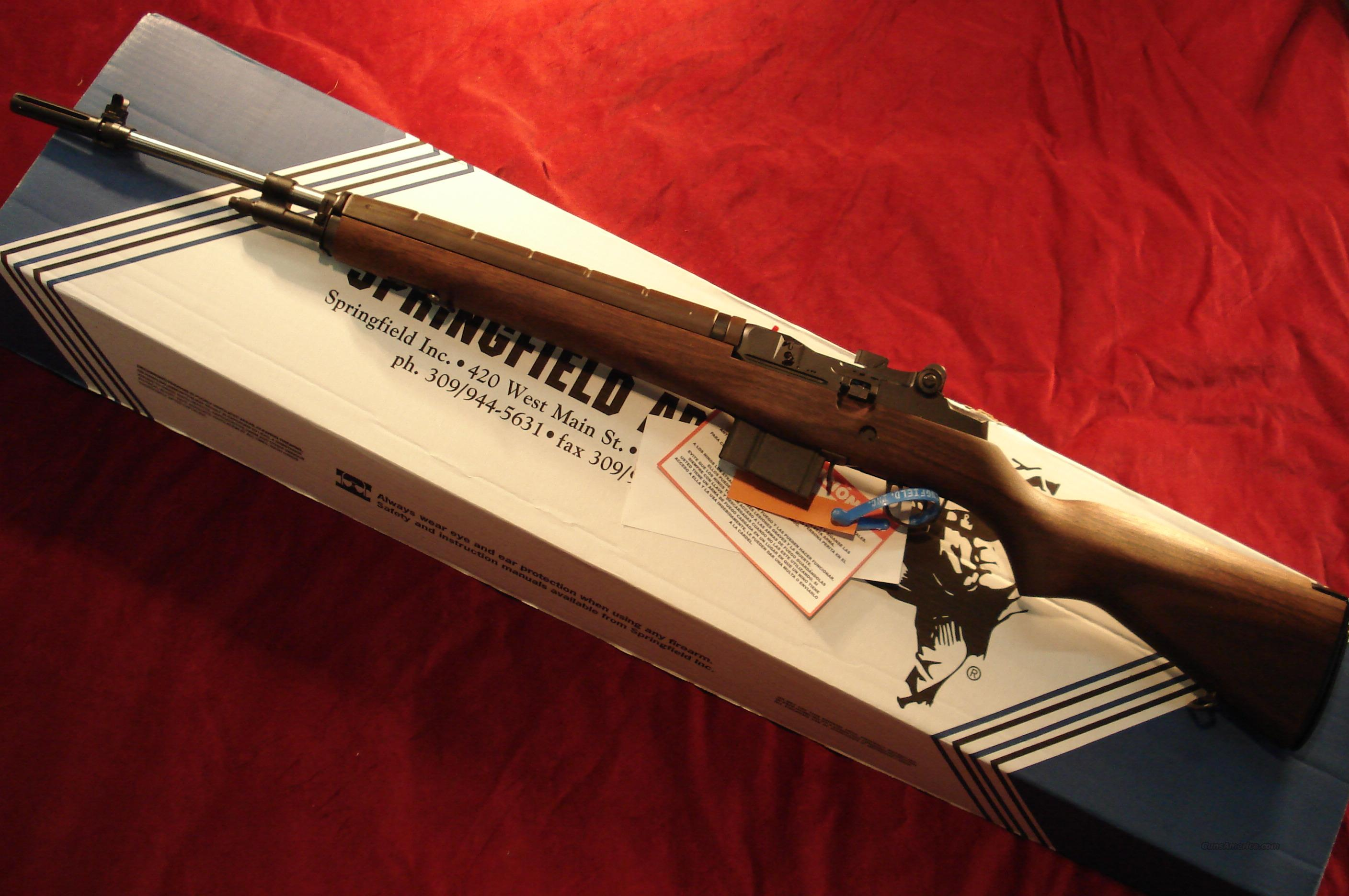 SPRINGFIELD ARMORY M1A LOADED STAINLESS WALNUT (MA9822) NEW  Guns > Rifles > Springfield Armory Rifles > M1A/M14