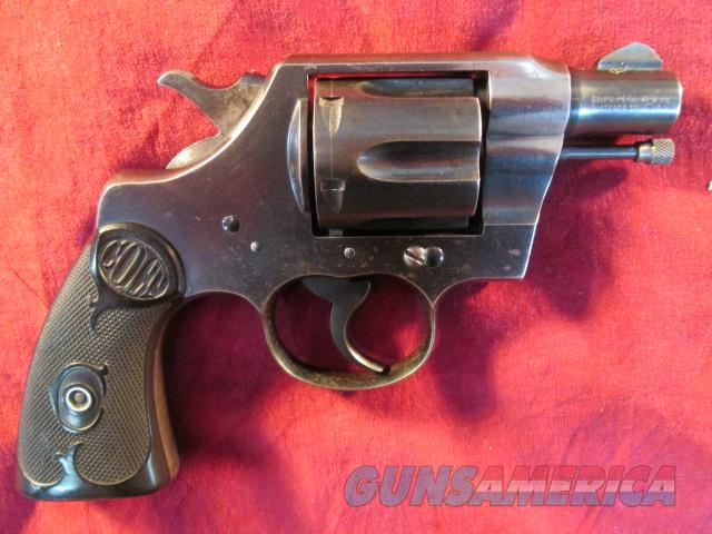 "COLT OFFICIAL POLICE 38SPL 2"" BARREL USED  Guns > Pistols > Colt Double Action Revolvers- Pre-1945"