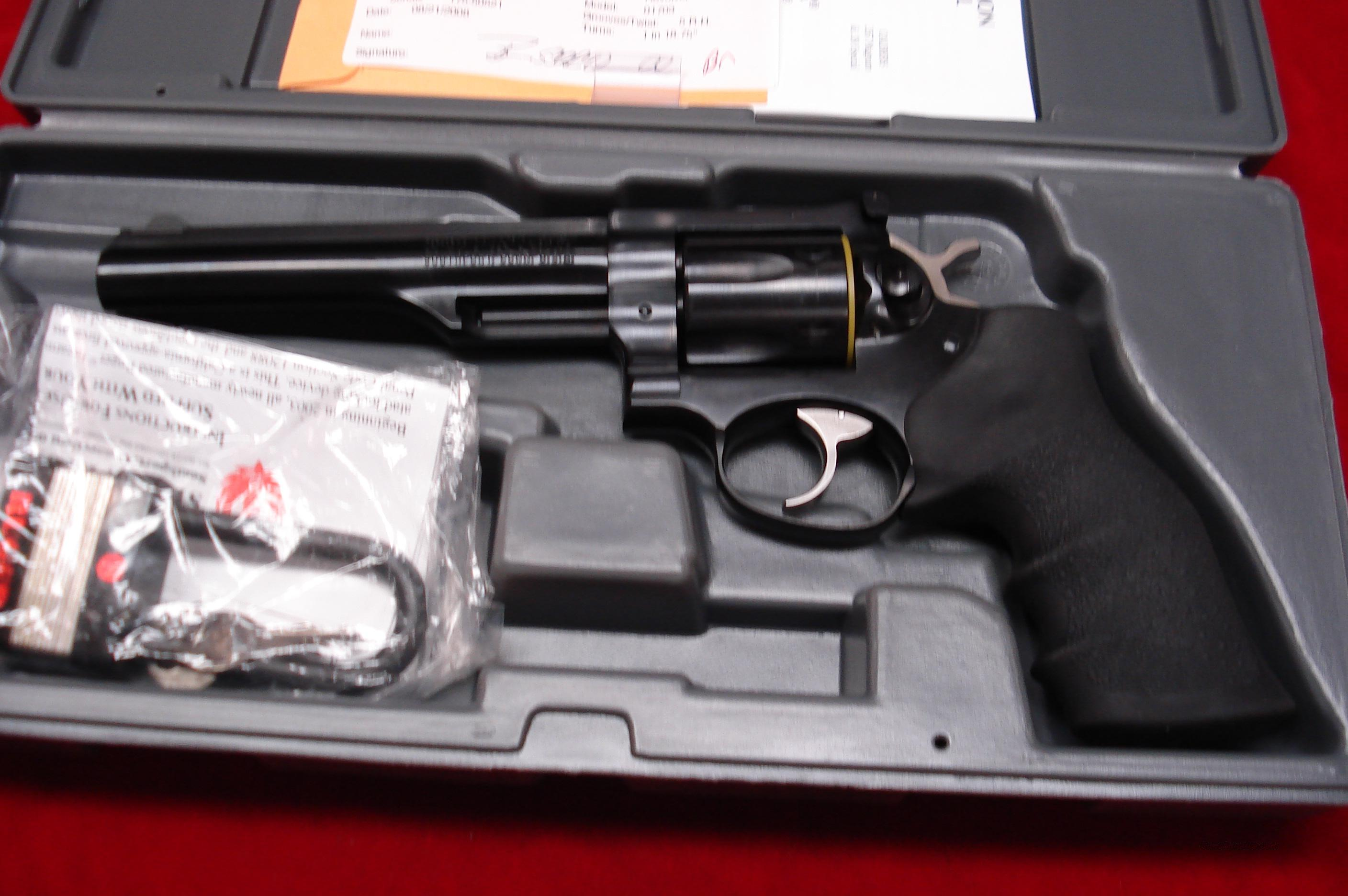 "RUGER GP 100 357MAG 6"" BLUE NEW   Guns > Pistols > Ruger Double Action Revolver > Security Six Type"