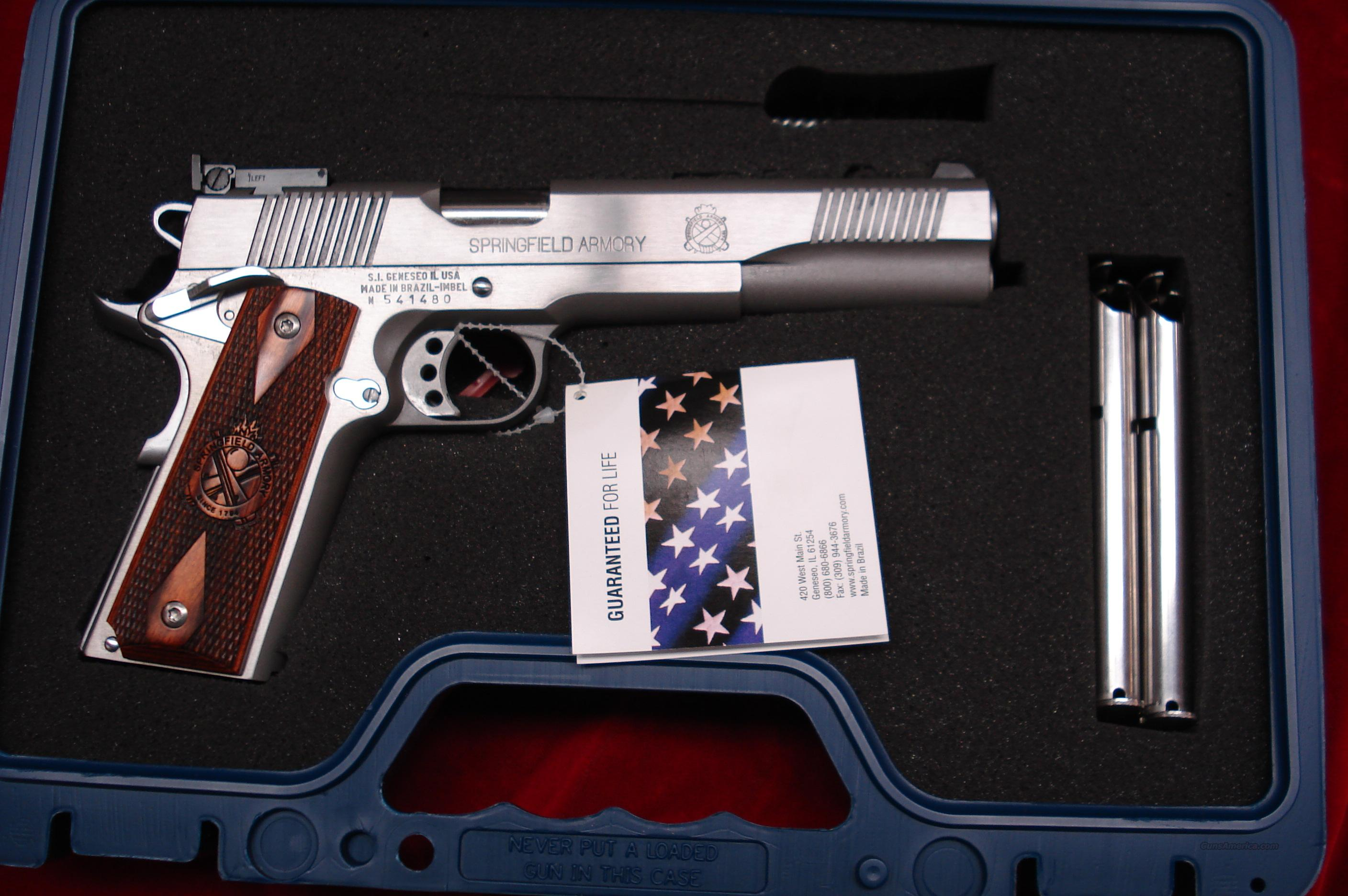 SPRINGFIELD ARMORY STAINLESS LONGSLIDE LOADED (PX9628LP) NEW  Guns > Pistols > Springfield Armory Pistols > 1911 Type