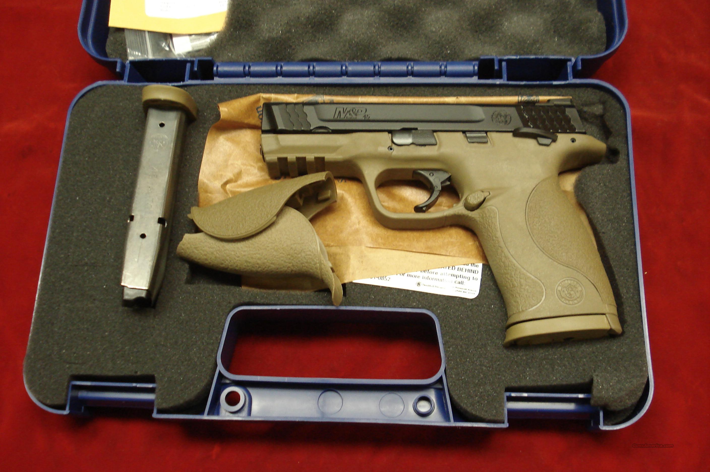 SMITH AND WESSON M&P 45ACP DARK EARTH FINISH NEW   Guns > Pistols > Smith & Wesson Pistols - Autos > Polymer Frame