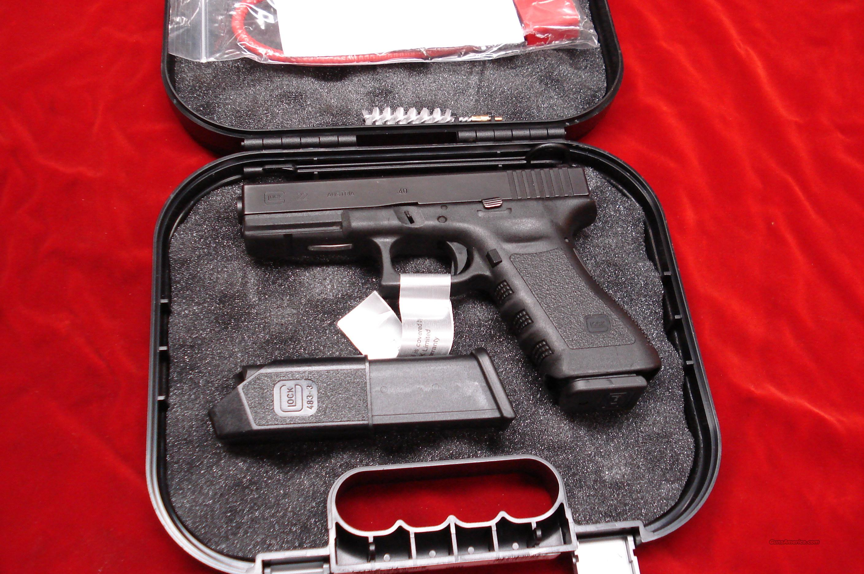 GLOCK MODEL 22 HIGH CAP FACTORY REBUILT  Guns > Pistols > Glock Pistols > 22