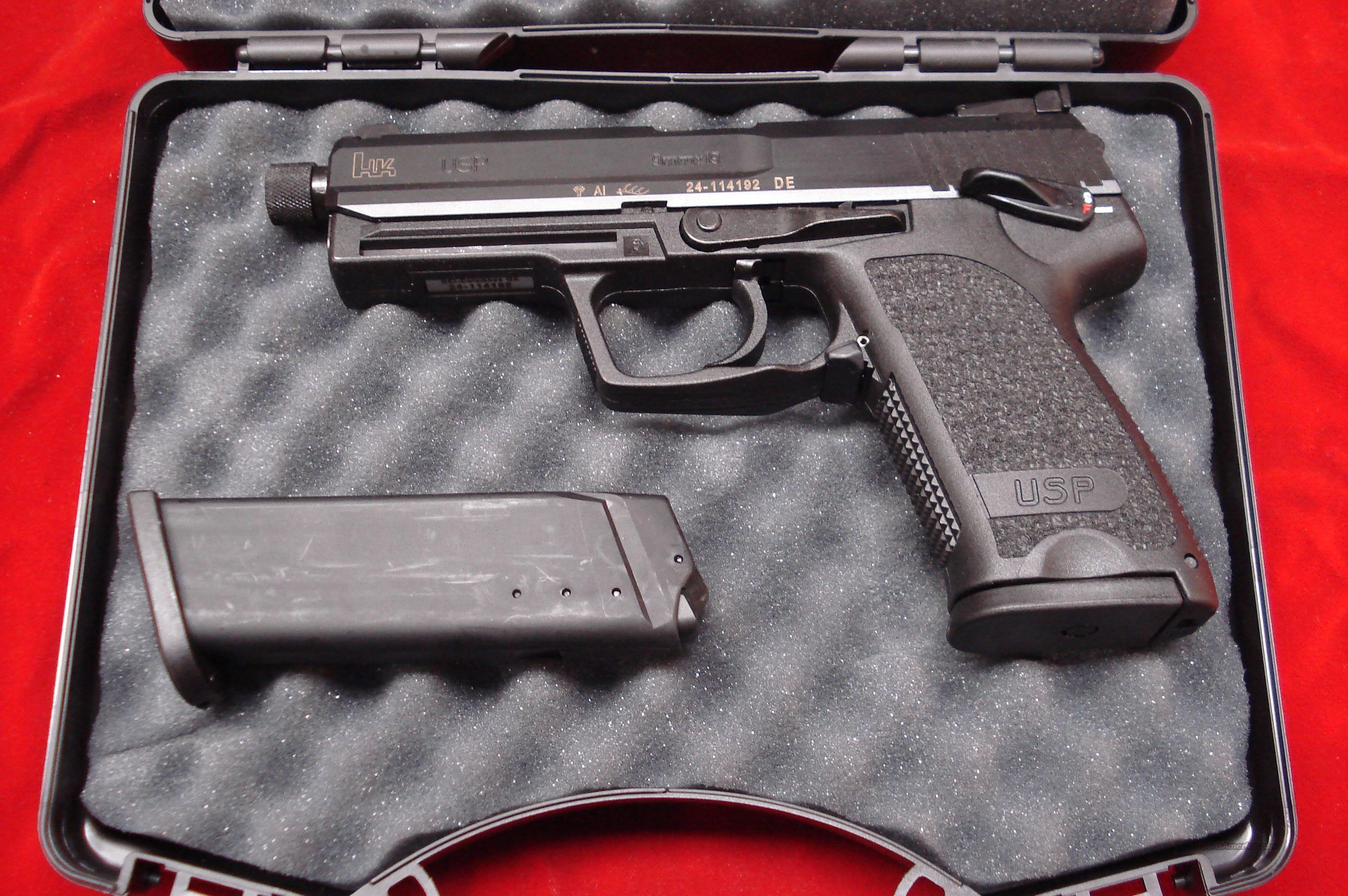 HK USP 9MM SILENCER READY NEW  Guns > Pistols > Heckler & Koch Pistols > Polymer Frame