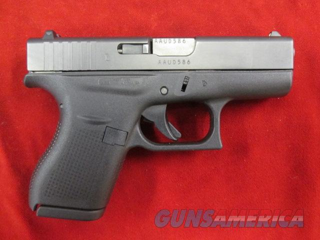 GLOCK 42 .380ACP (SMALLEST PISTOL GLOCK MAKES) USED  Guns > Pistols > Glock Pistols > 42