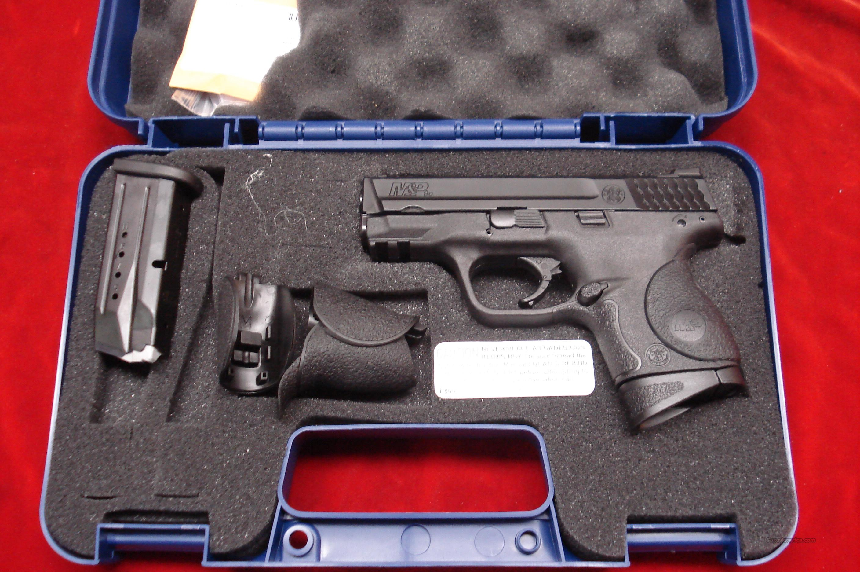 SMITH AND WESSON M&P COMPACT 9MM WITH CRIMSON TRACE LASER GRIPS NEW   Guns > Pistols > Smith & Wesson Pistols - Autos > Polymer Frame