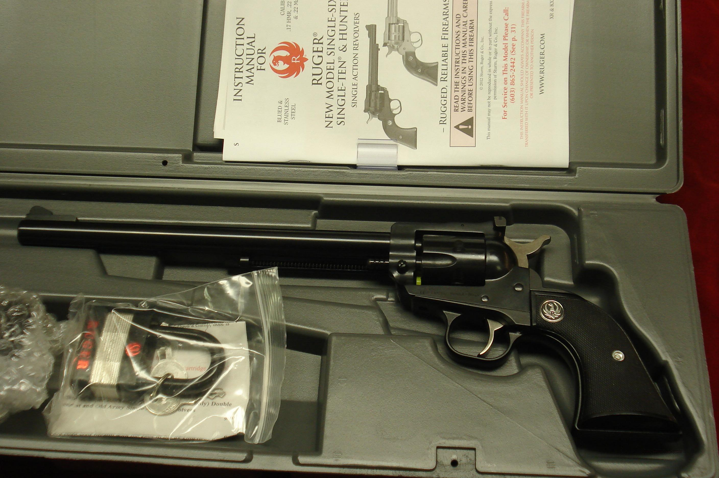 "RUGER SUPER SINGLE-SIX 9.5"" BLUE NEW (NR-9)  Guns > Pistols > Ruger Single Action Revolvers > Single Six Type"