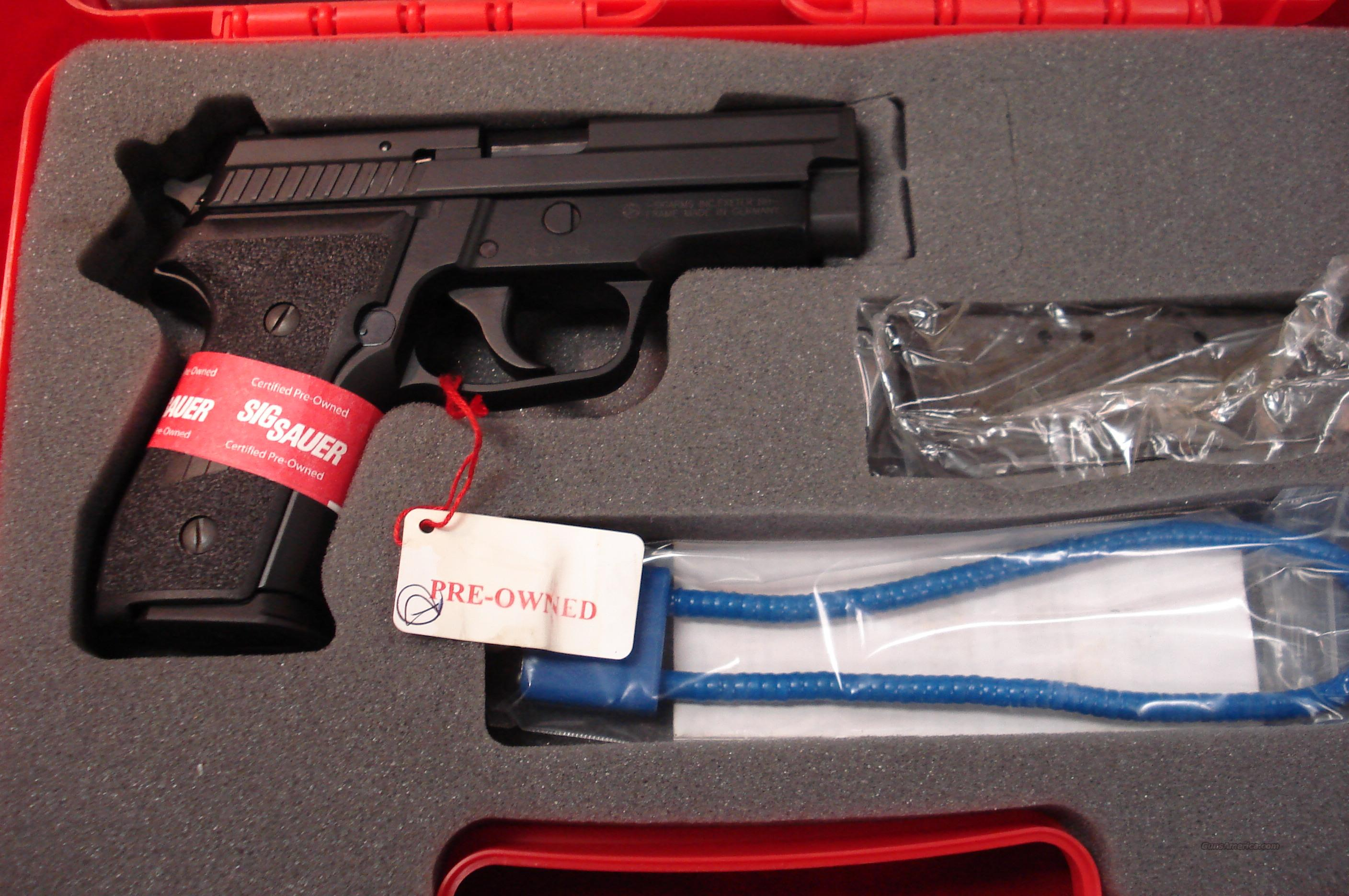 SIG SAUER P229 40CAL. CERTIFIED PREOWNED   Guns > Pistols > Sig - Sauer/Sigarms Pistols > P229