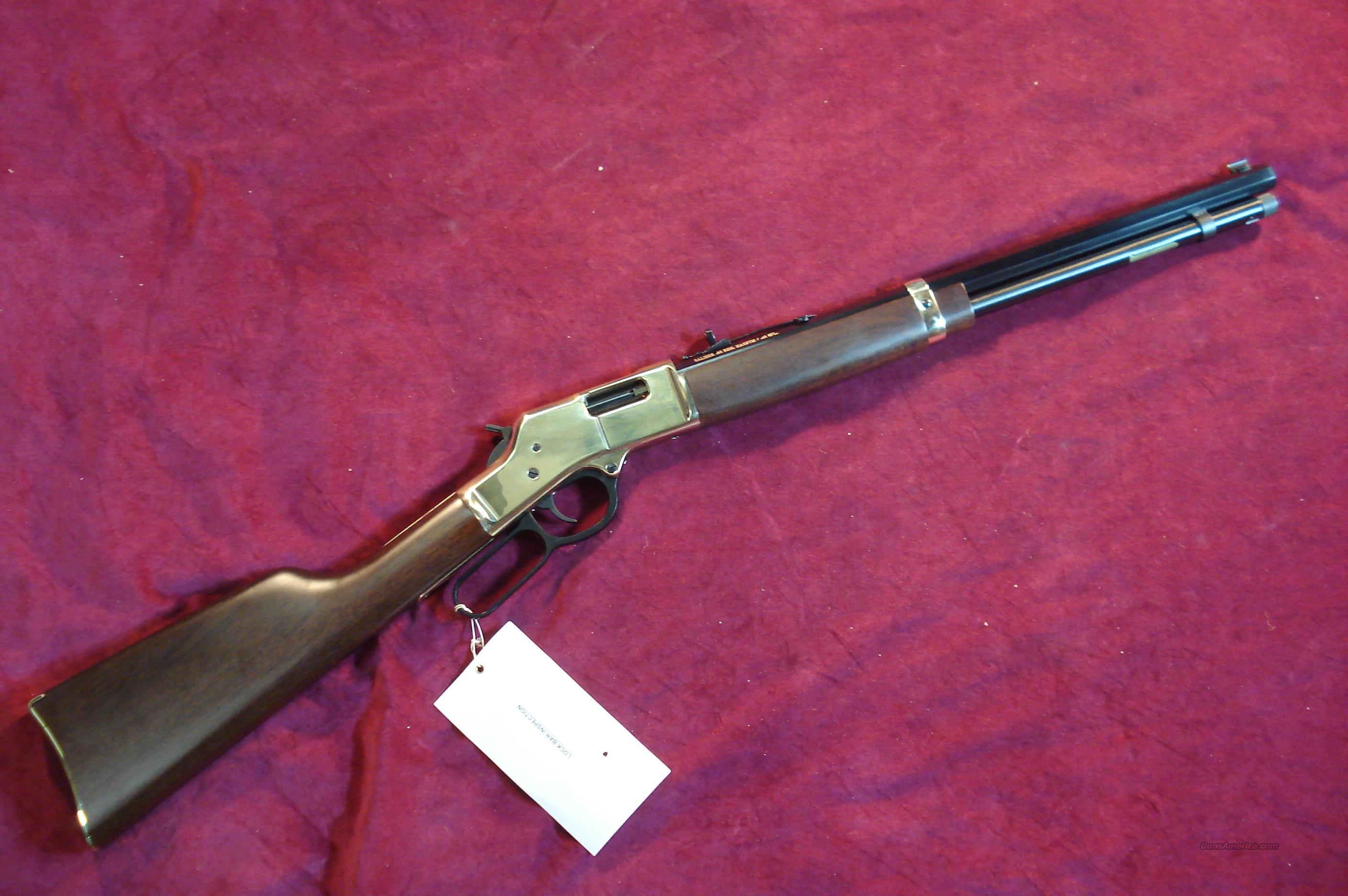 HENRY BIG BOY LEVER ACTION .44MAG/44SPL. NEW  Guns > Rifles > Henry Rifle Company