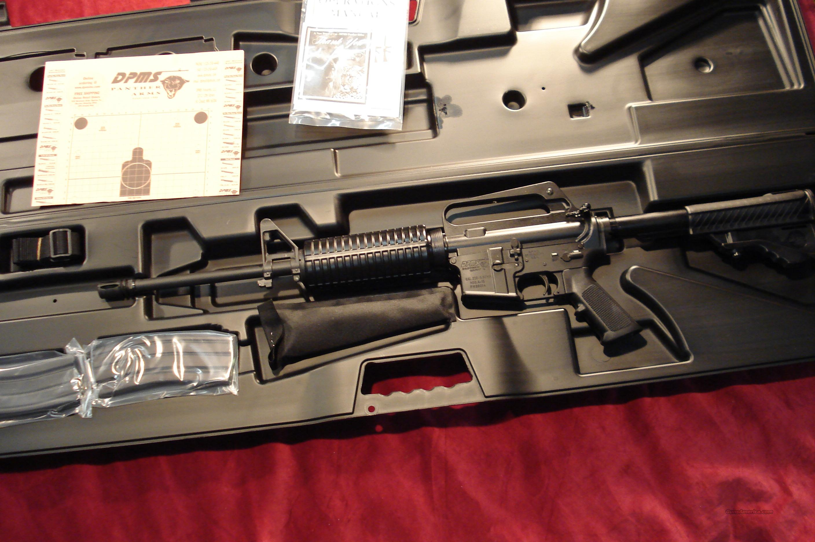 DPMS PANTHER LITE 16  223 CAL. NEW  Guns > Rifles > DPMS - Panther Arms > Complete Rifle