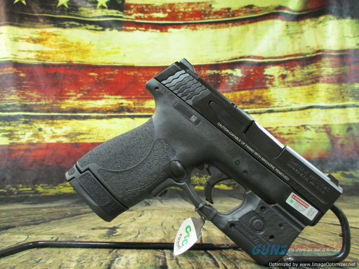 Smith & Wesson SALE! 9MM M&P 2.0 W/ Crimson Trace Laserguard Pro New (11811) $$ FACTORY REBATE OFFER $$  Guns > Pistols > Smith & Wesson Pistols - Autos > Shield