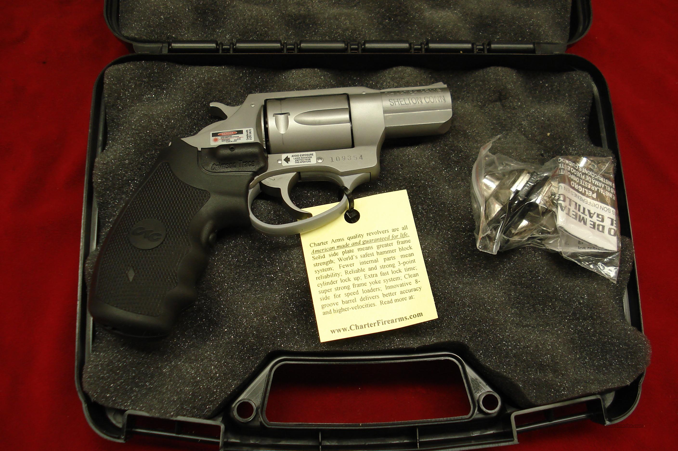 CHARTER ARMS UNDER COVER  38SPL. W/CRIMSON TRACE LASER GRIPS NEW  Guns > Pistols > Charter Arms Revolvers