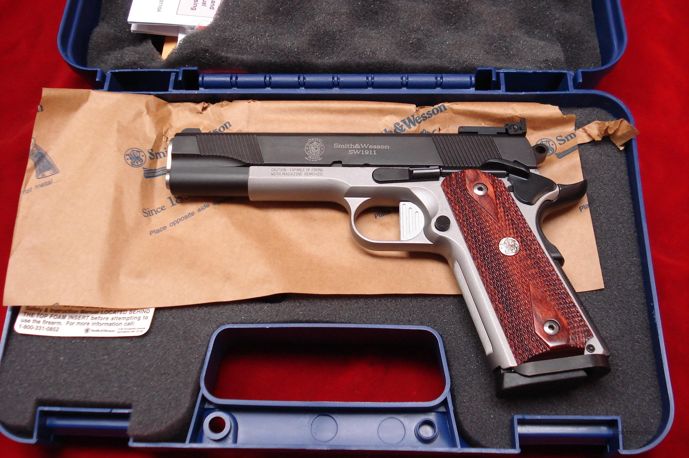 "SMITH AND WESSON SW1911DK ""DOUG KOENIG PROFESSIONAL SERIES""  NEW  Guns > Pistols > Smith & Wesson Pistols - Autos > Steel Frame"