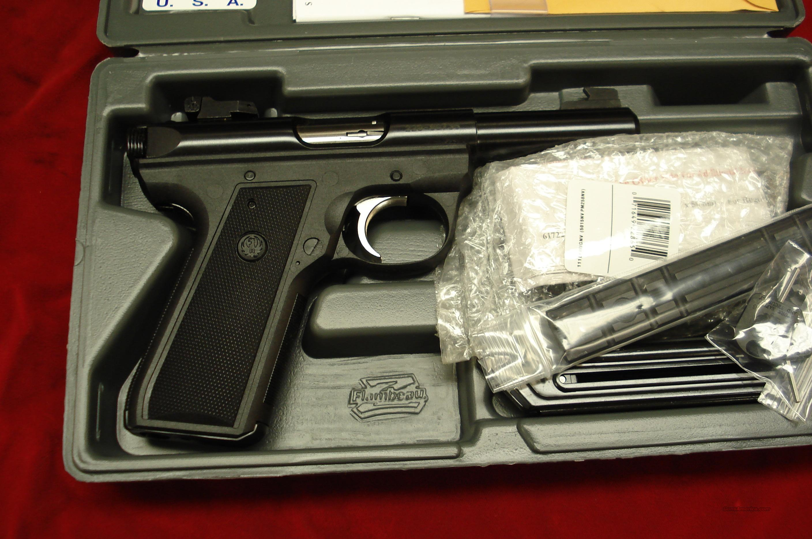 "RUGER 22/45 MKIII 4"" BULL NEW (P4MKIII)  Guns > Pistols > Ruger Semi-Auto Pistols > Mark I & II Family"