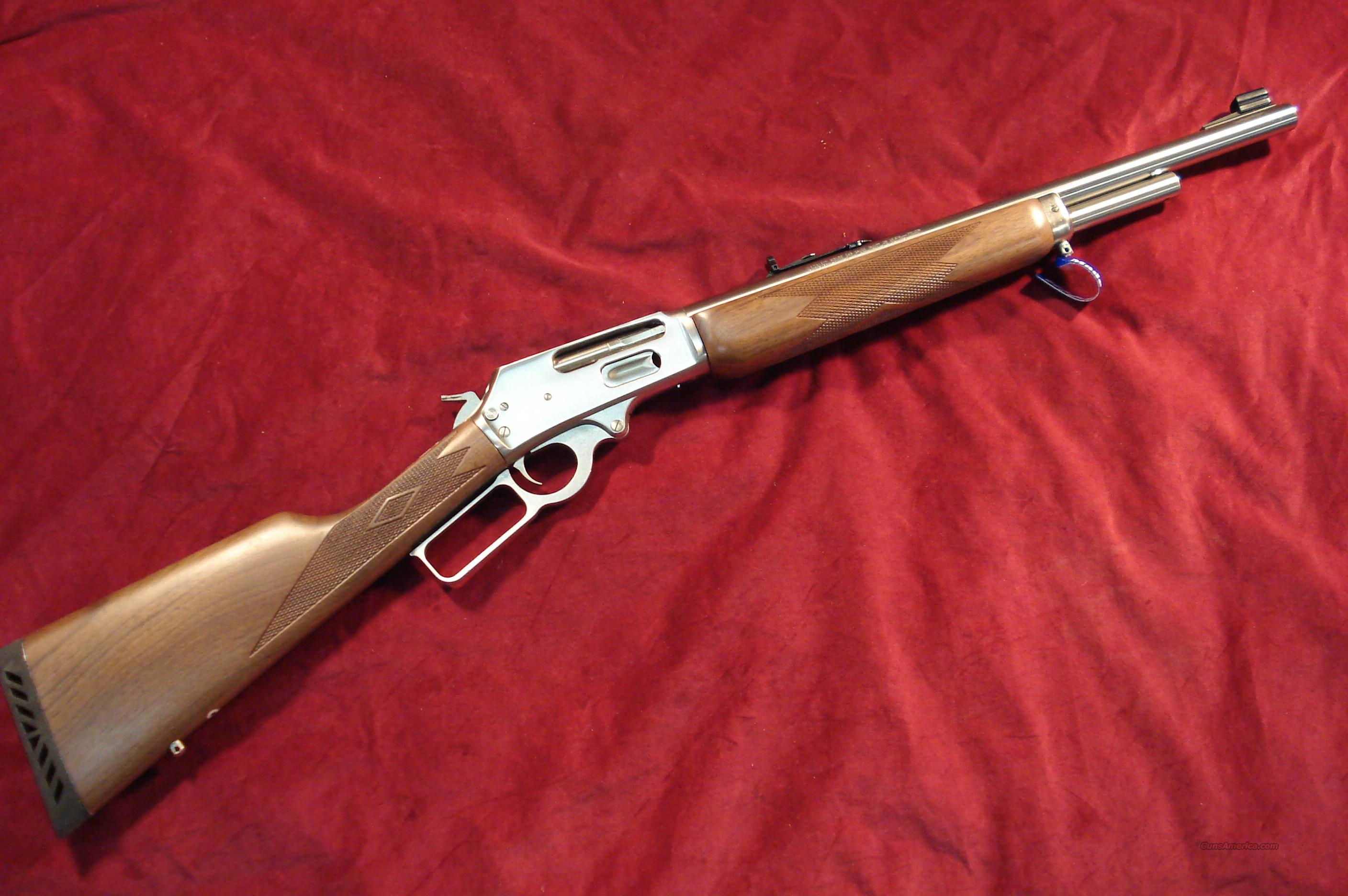 MARLIN STAINLESS GUIDE GUN 45-70 GOV'T NEW  (1895GS)  Guns > Rifles > Marlin Rifles > Modern > Lever Action