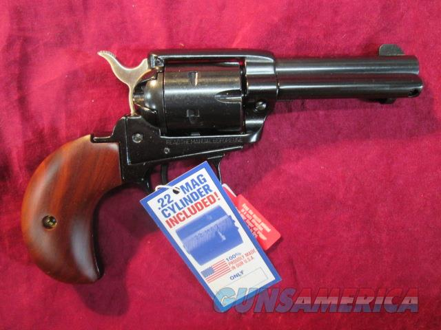 "HERITAGE ARMS ROUGH RIDER BIRDS HEAD SINGLE ACTION 3.5"" 22LR/ 22MAG NEW  (RR22MB3BH)    Guns > Pistols > Heritage"