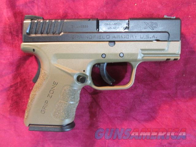 "SPRINGFIELD XD MOD 2 FLAT DARK EARTH 3"" 45CAL NEW   (XDG9845FDEHC)  {{ FACTORY MAIL IN REBATE OFFER }}   Guns > Pistols > Springfield Armory Pistols > XD (eXtreme Duty)"