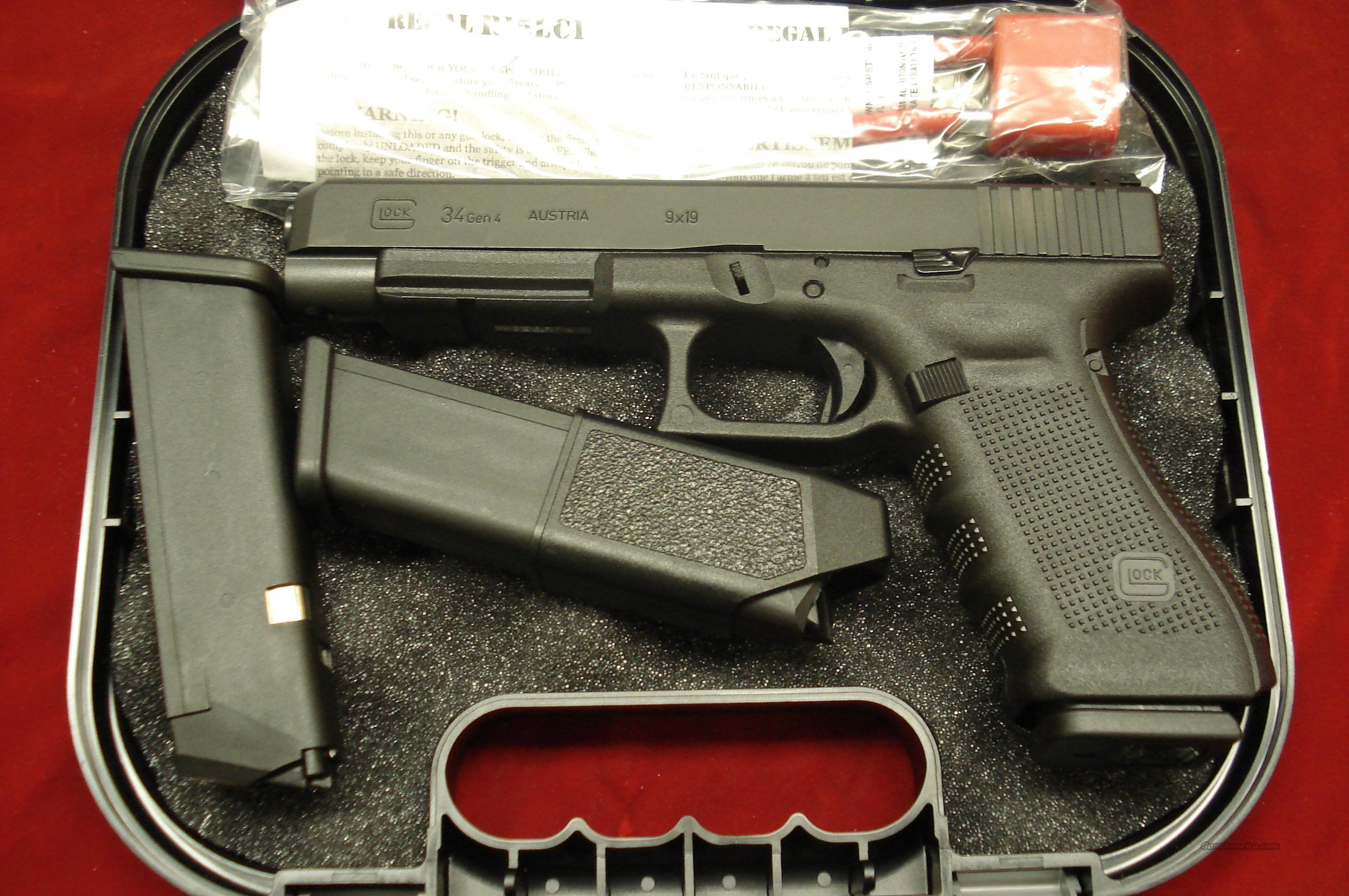 GLOCK MODEL 34 GEN4 9MM TACTICAL/PRACTICAL NEW  Guns > Pistols > Glock Pistols > 17