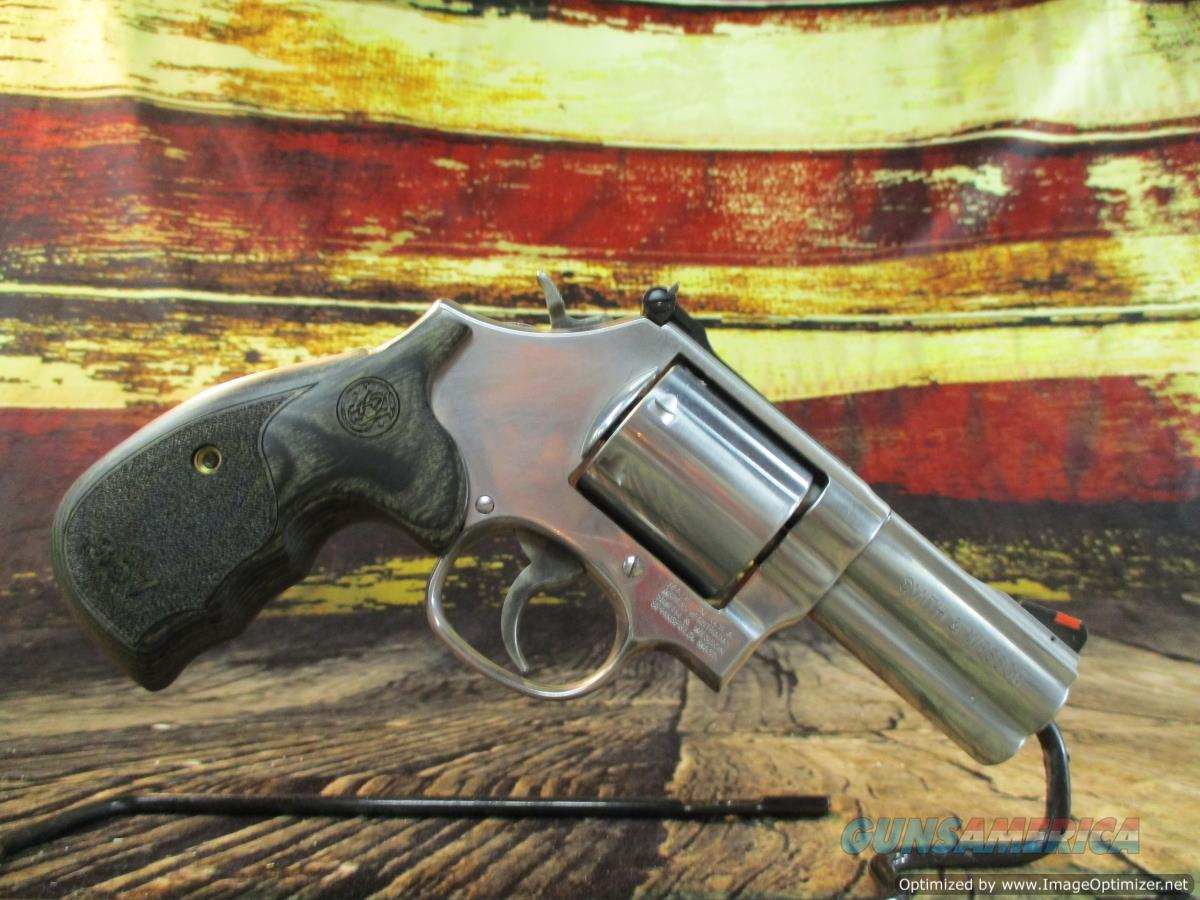"""Smith & Wesson 357 Mag Model 686 Plus Deluxe Stainless 3"""" (150853)  Guns > Pistols > Smith & Wesson Revolvers > Med. Frame ( K/L )"""