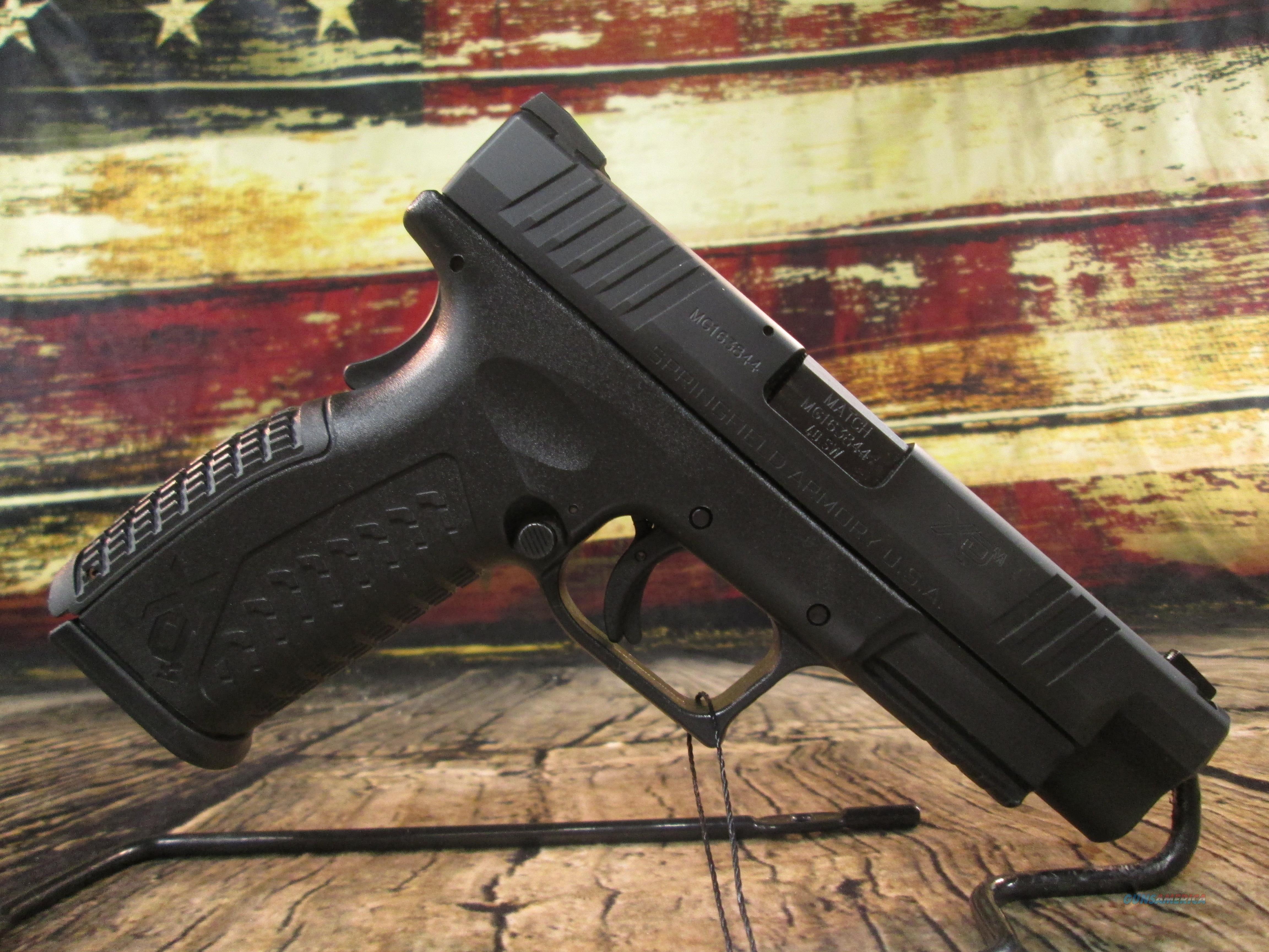 """Springfield XDM 4.5"""" w/ XD-Gear 40 S&W Used (64645)  Guns > Pistols > Springfield Armory Pistols > XD-M"""