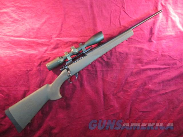 HOWA MODEL 1500 RANCHLAND SECURITY RIFLE 223 W/ GREEN HOGUE STOCK AND SCOPE USED   Guns > Rifles > Howa Rifles