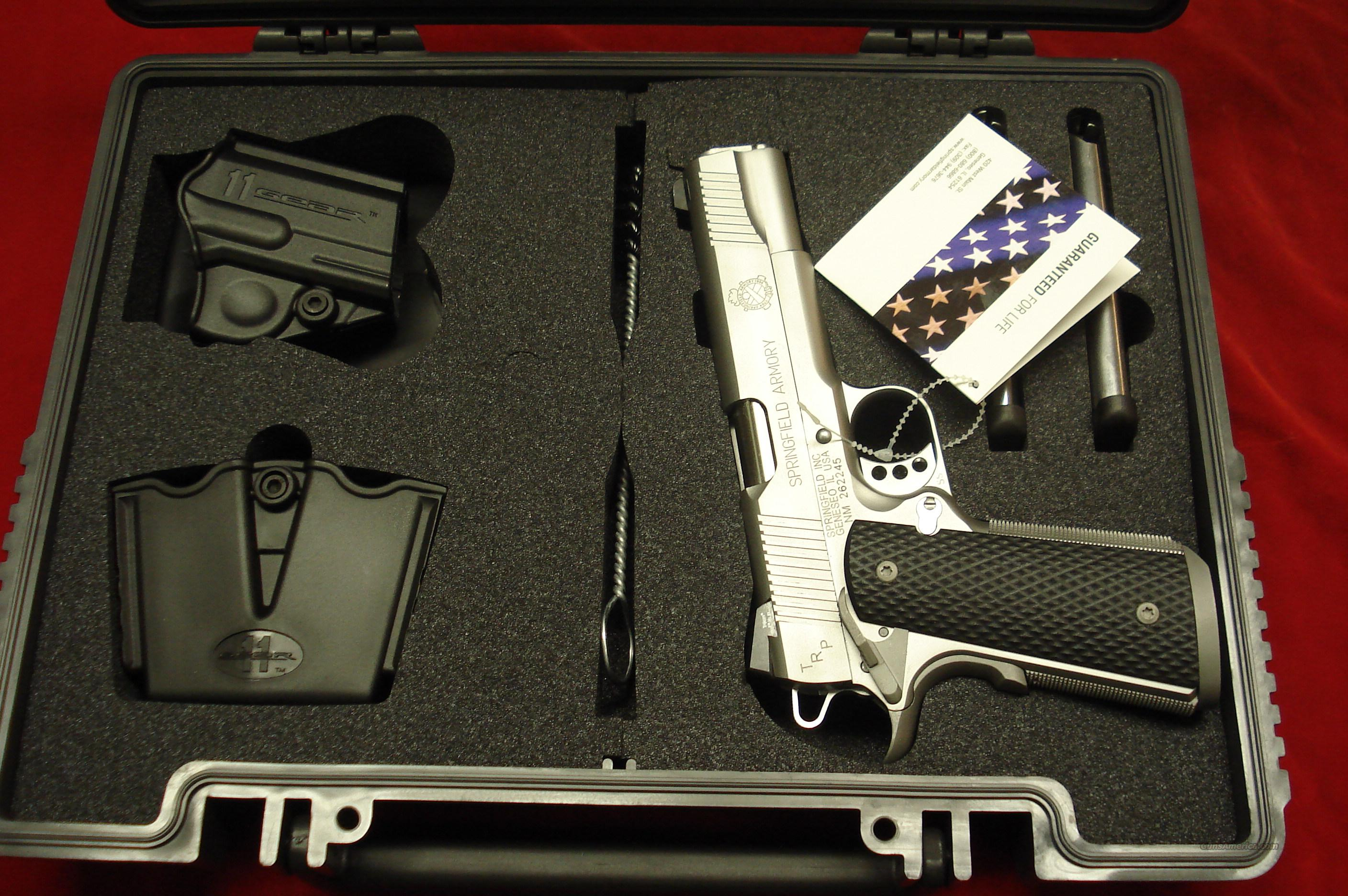 SPRINGFIELD ARMORY TRP (TACTICAL RESPONCE PISTOL) STAINLESS (PC9107LP) NEW   Guns > Pistols > Springfield Armory Pistols > 1911 Type