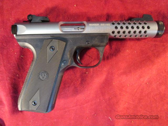 RUGER 22/45 LITE W/ THREADED BARREL NEW  Guns > Pistols > Ruger Semi-Auto Pistols > Mark I/II/III Family
