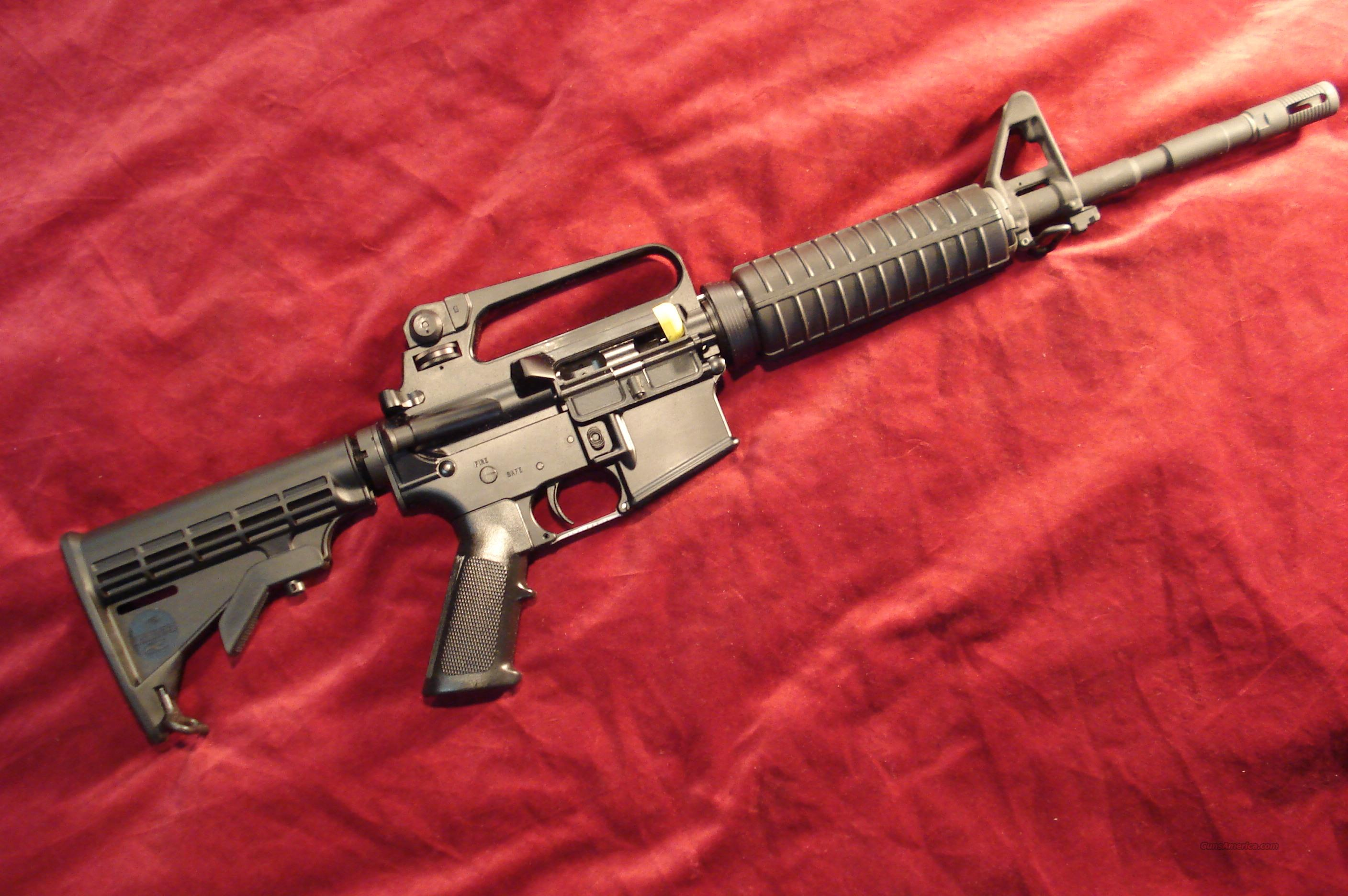 BUSHMASTER M4A2 IZZY CARBINE 223CAL. NEW  Guns > Rifles > Bushmaster Rifles > Complete Rifles