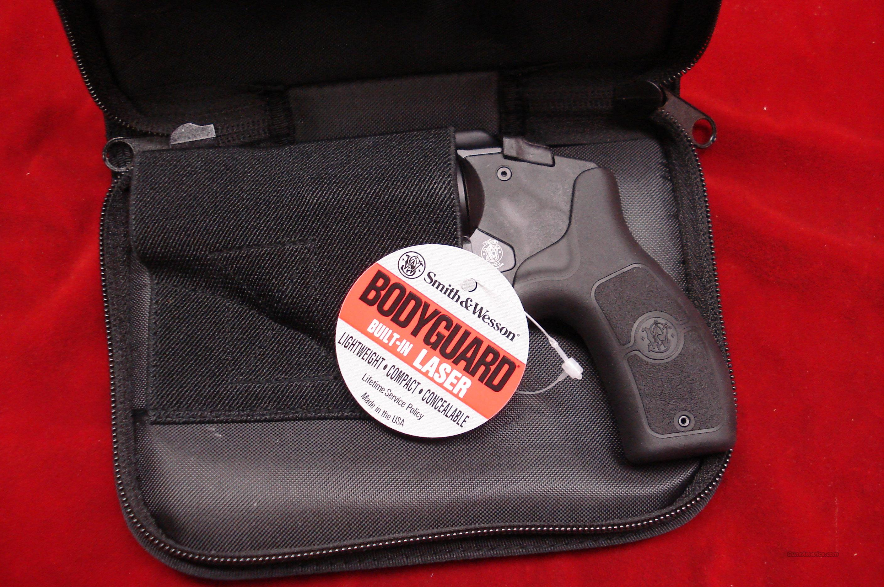 SMITH AND WESSON BODYGUARD 38SPL. WITH LASER NEW {{ SALE PRICE }}  Guns > Pistols > Smith & Wesson Revolvers > Pocket Pistols