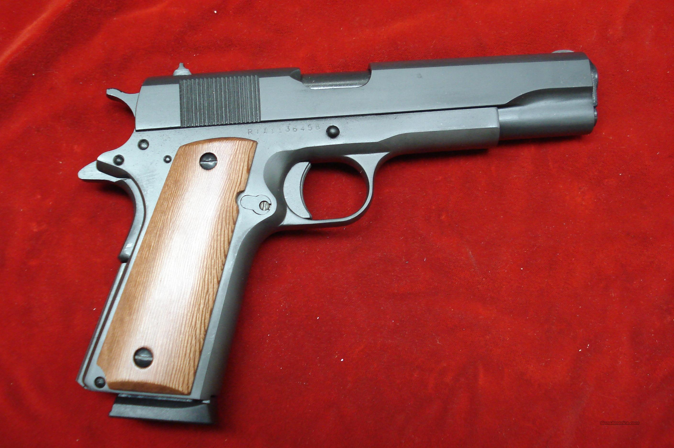 ROCK ISLAND ARMORY 1911-A1 NEW  Guns > Pistols > 1911 Pistol Copies (non-Colt)