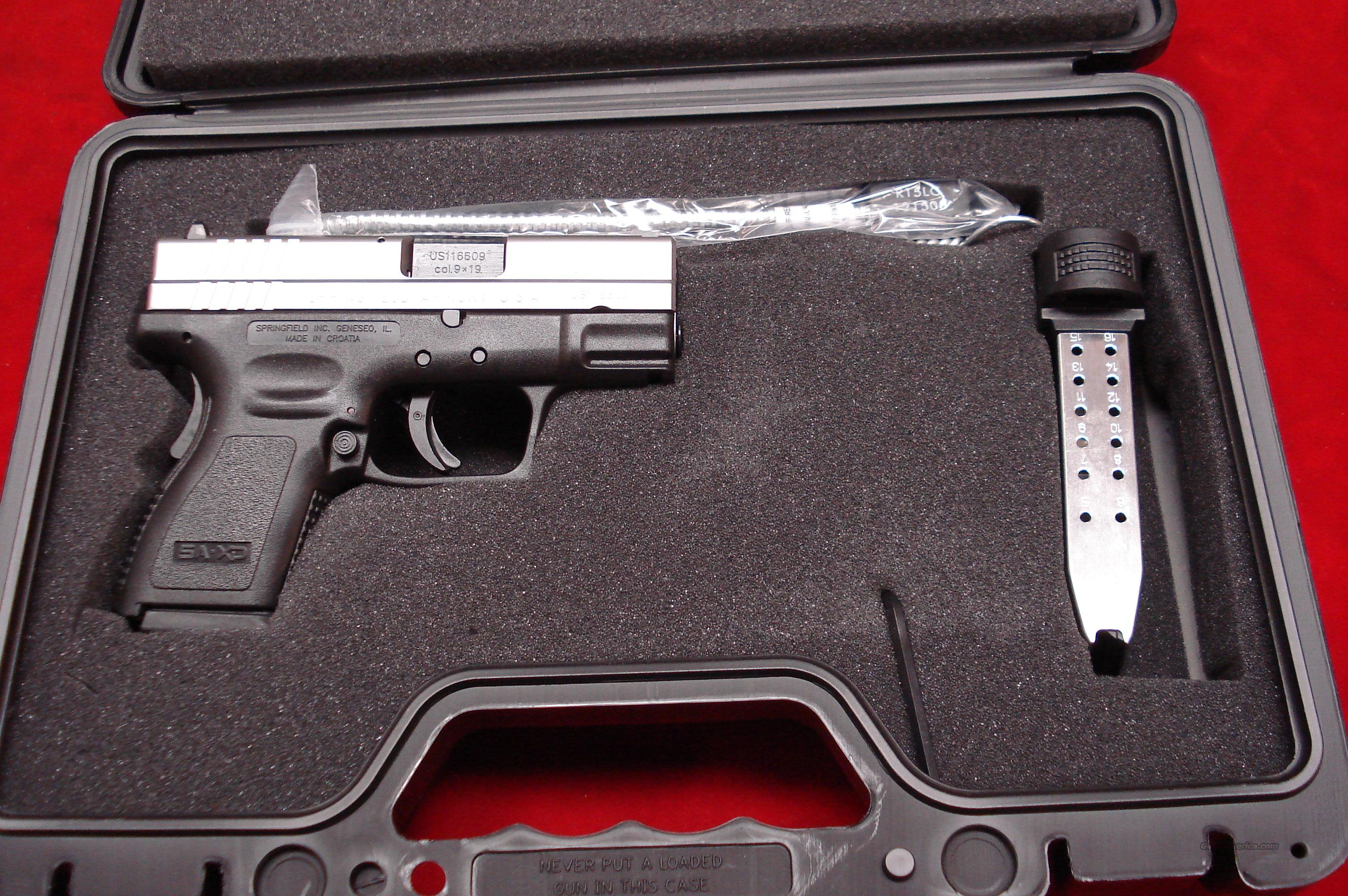 SPRINGFIELD ARMORY XD 9MM BI-TONE HIGH SUB COMPACT PACKAGE NEW  Guns > Pistols > Springfield Armory Pistols > XD (eXtreme Duty)