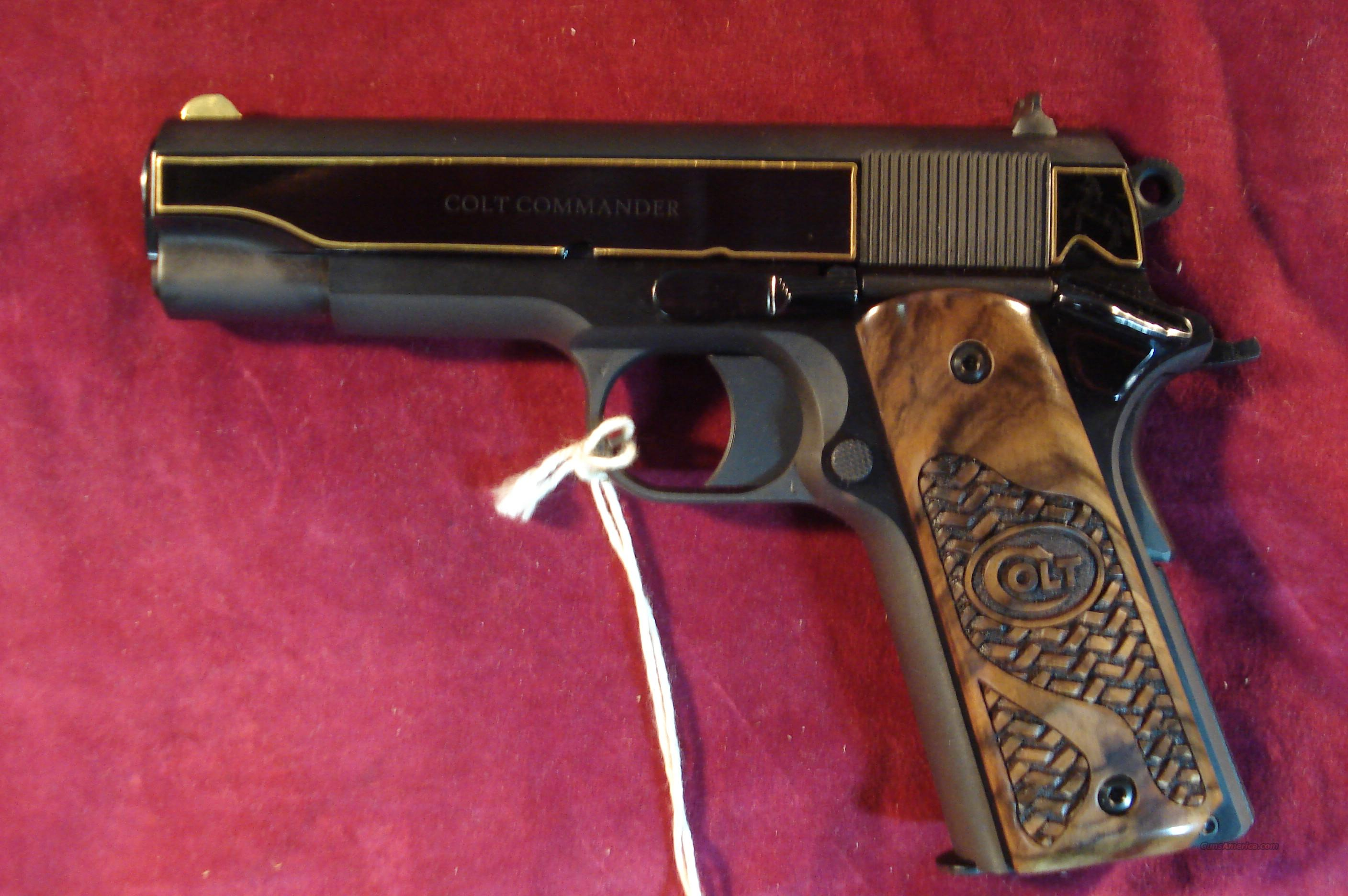 COLT 1911 TALO COMMANDER GOLD EDITION 45ACP #145 OF 300 MADE NEW (O4691CDR)  Guns > Pistols > Colt Automatic Pistols (1911 & Var)