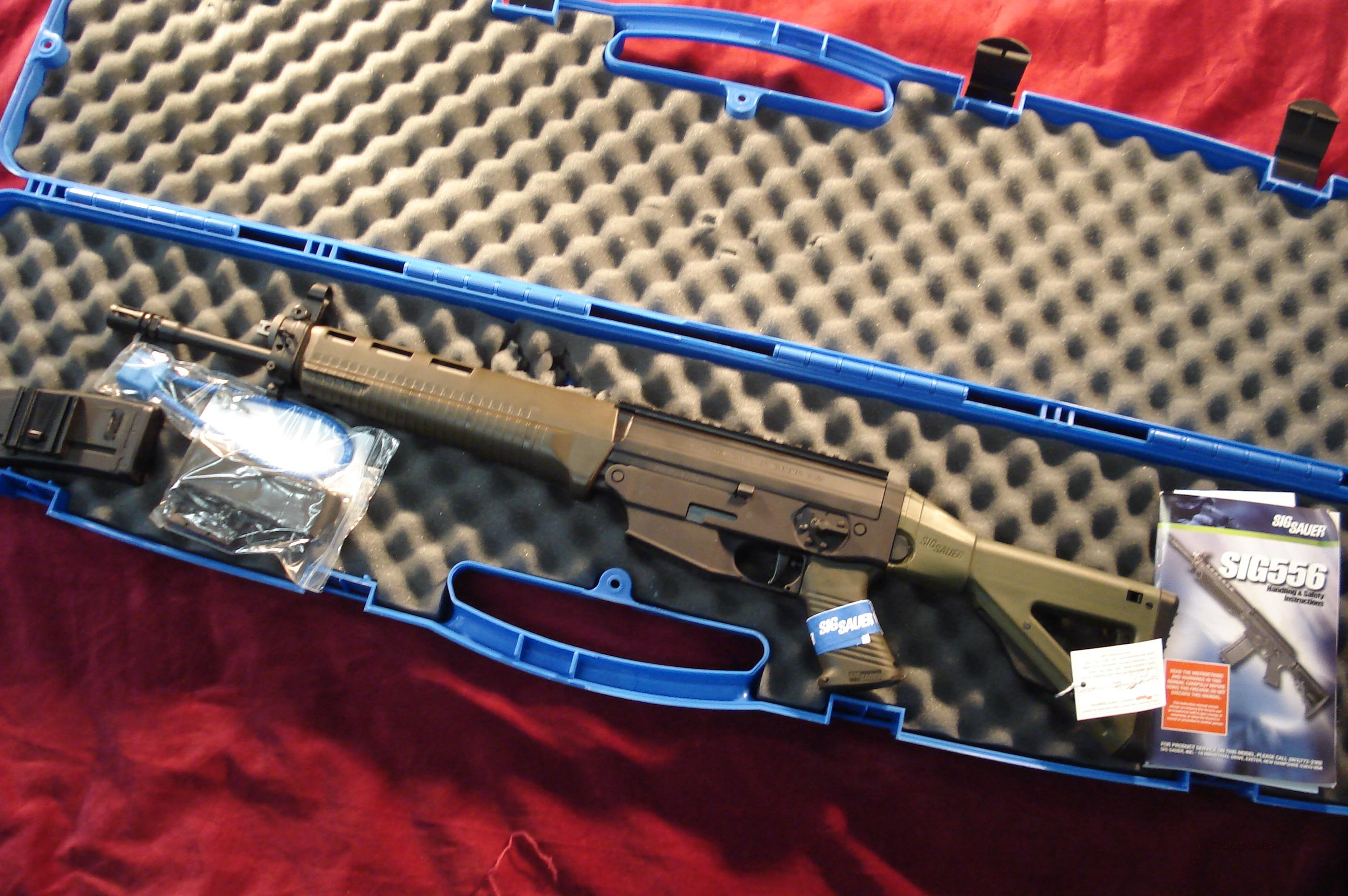 SIG SAUER 556 CLASSIC CARBINE RIFLE OD GREEN NEW  Guns > Rifles > Sig - Sauer/Sigarms Rifles