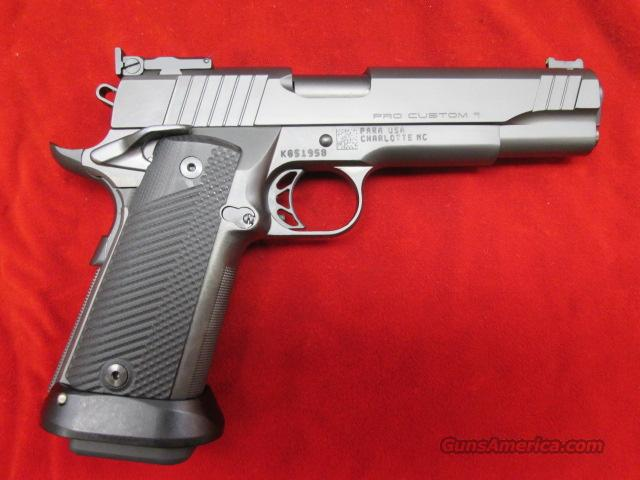 PARA PRO CUSTOM 1911 9MM 18 ROUND W/ ADJUSTABLE SIGHTS NEW  Guns > Pistols > Para Ordnance Pistols