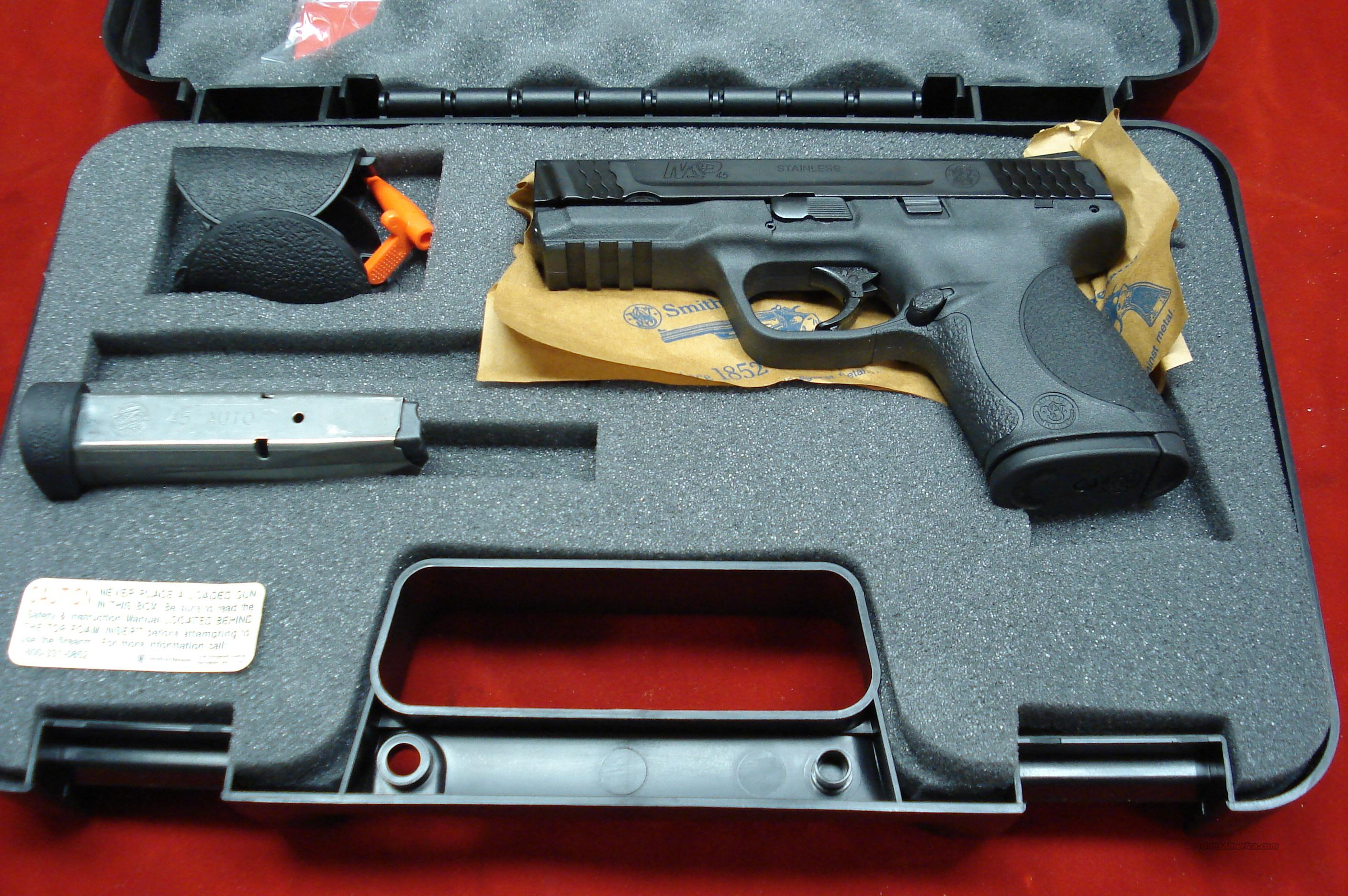 SMITH AND WESSON M&P COMPACT 45ACP NEW   Guns > Pistols > Smith & Wesson Pistols - Autos > Polymer Frame