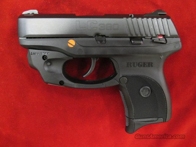RUGER LC380 (Lightweight Compact pistol) W/ LASERMAX, 380CAL. NEW  Guns > Pistols > Ruger Semi-Auto Pistols > LC9