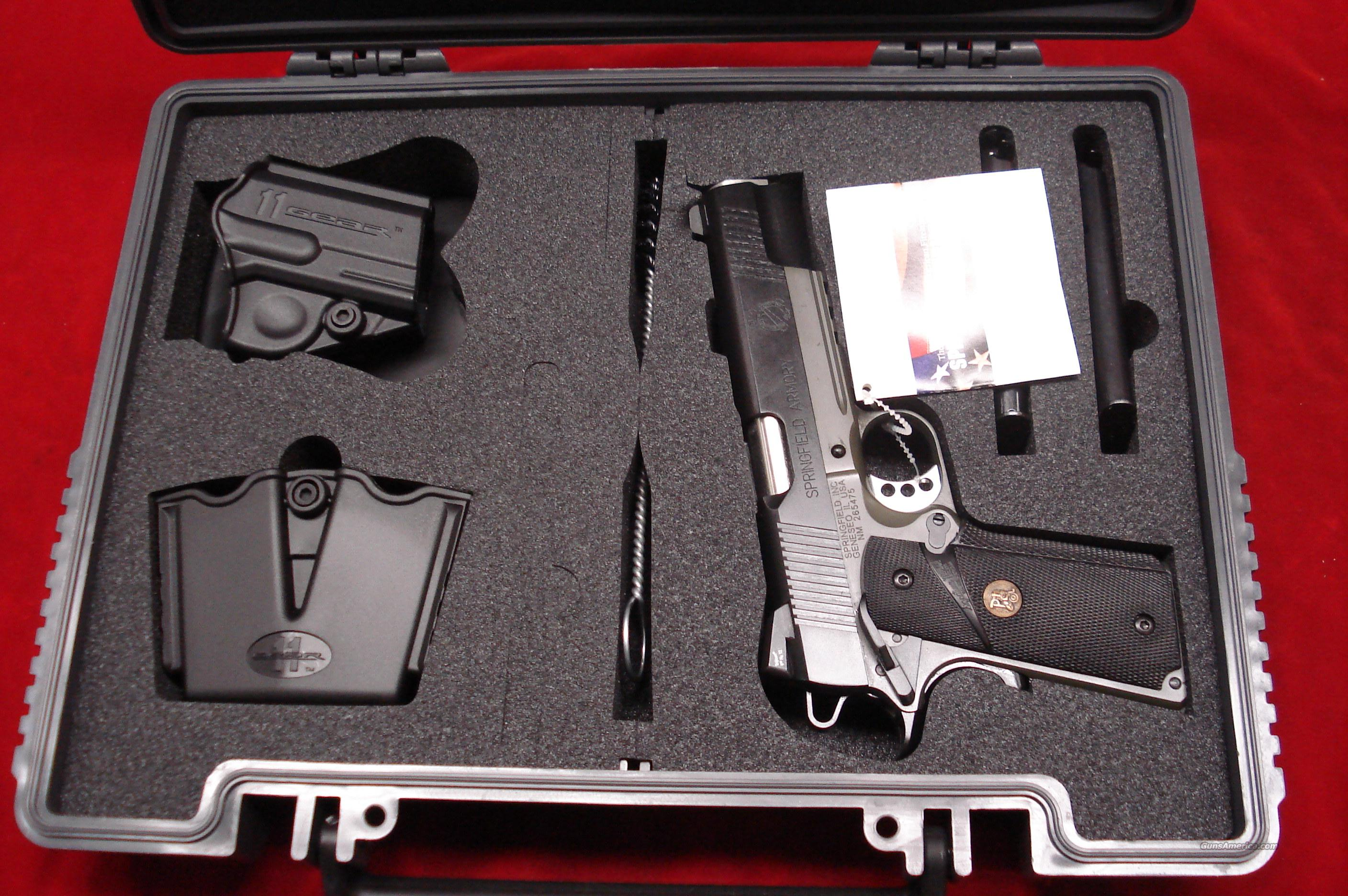 SPRINGFIELD ARMORY LOADED MC OPERATOR 45ACP W/NIGHT SIGHTS  NEW  (PX9105MLP)  Guns > Pistols > Springfield Armory Pistols > 1911 Type