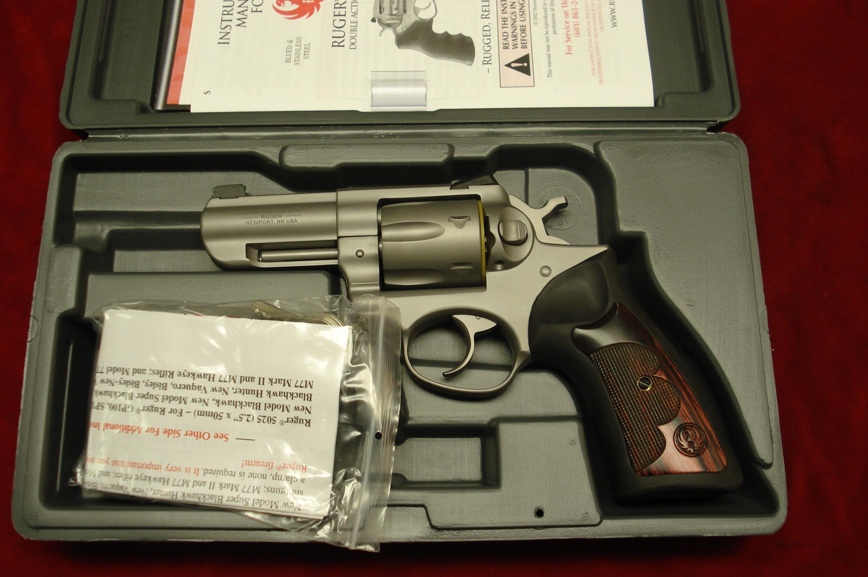"RUGER WILEY CLAPP GP100 357MAG 3"" STAINLESS NEW (HKGP-33-NVK)  Guns > Pistols > Ruger Double Action Revolver > Security Six Type"