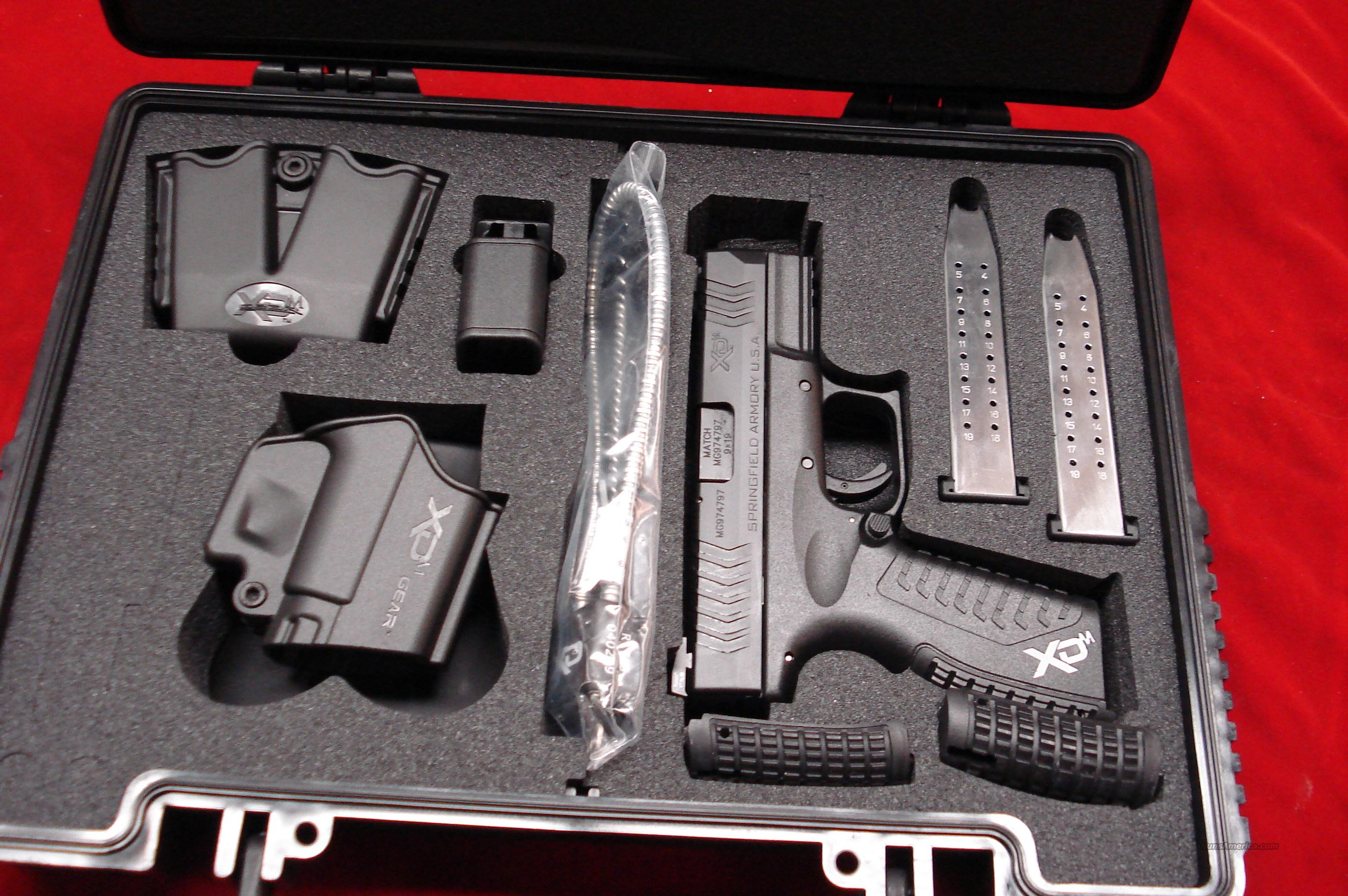 SPRINGFIELD ARMORY XDM 3.8 COMPACT 9MM WITH NIGHT SIGHTS NEW   Guns > Pistols > Springfield Armory Pistols > XD (eXtreme Duty)