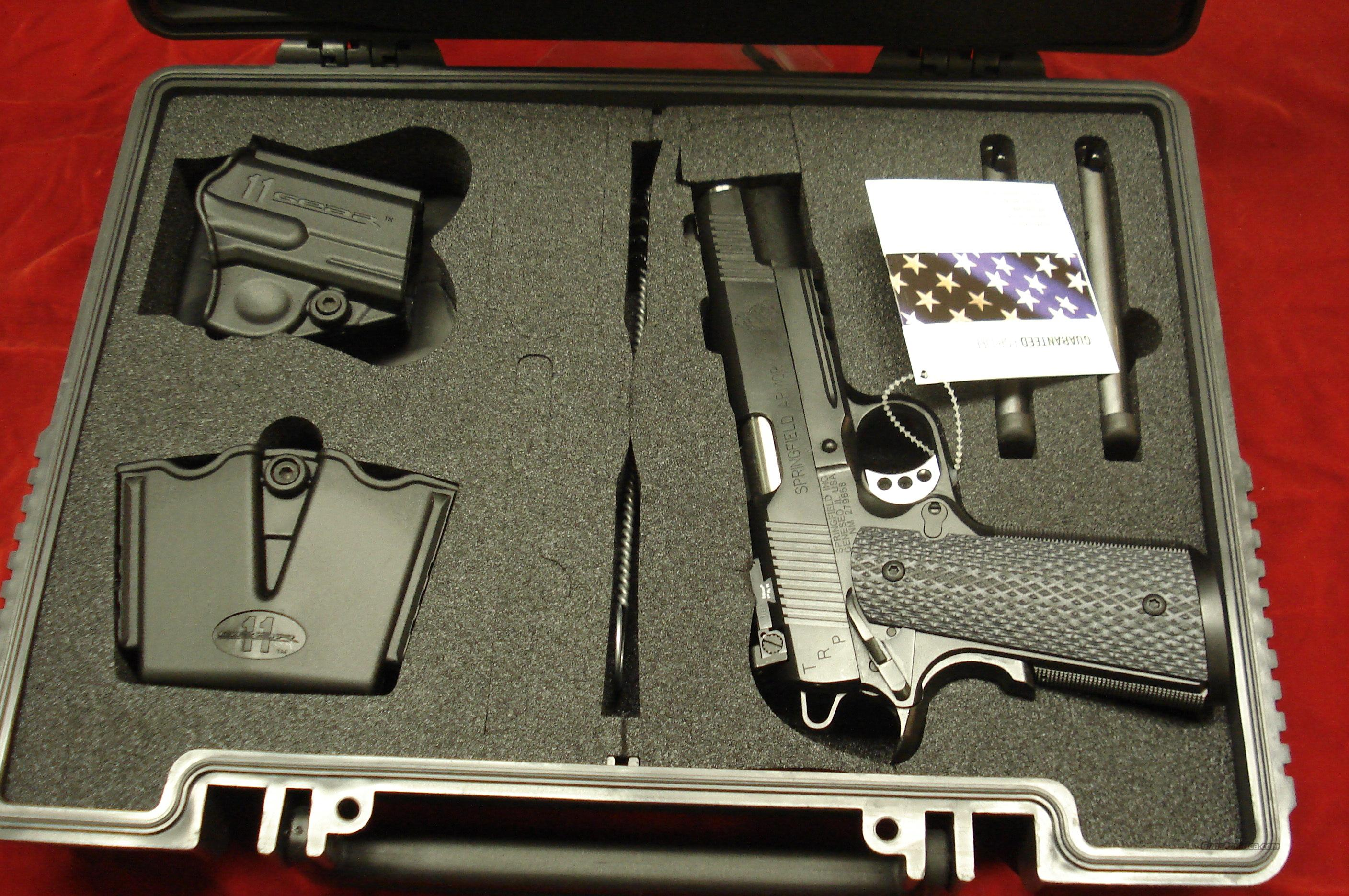 SPRINGFIELD ARMORY TRP OPERATOR W/LIGHT RAIL (PC9105LP) NEW  Guns > Pistols > Springfield Armory Pistols > 1911 Type