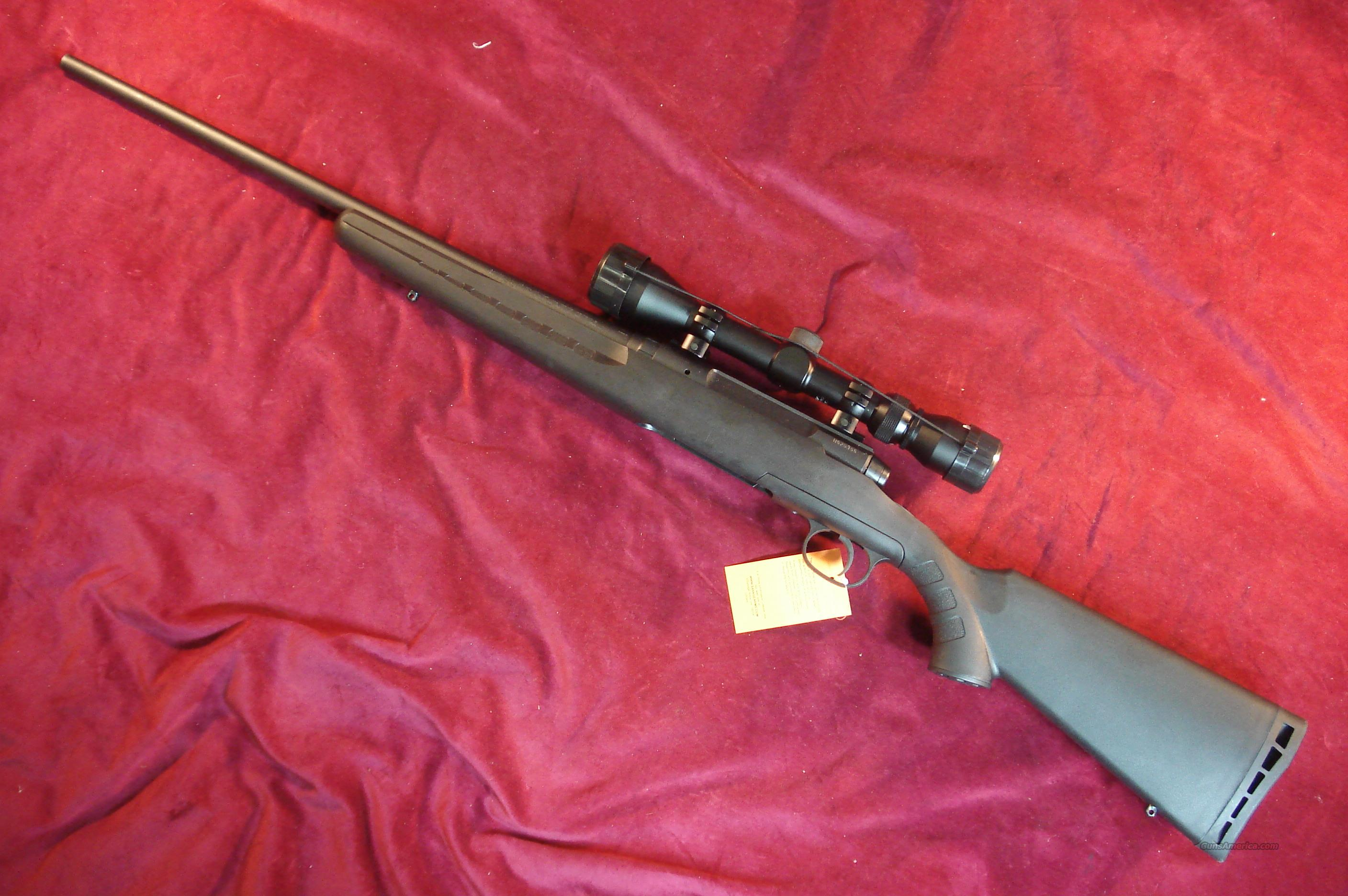 SAVAGE AXIS 243 WITH SCOPE NEW  Guns > Rifles > Savage Rifles > Standard Bolt Action > Sporting