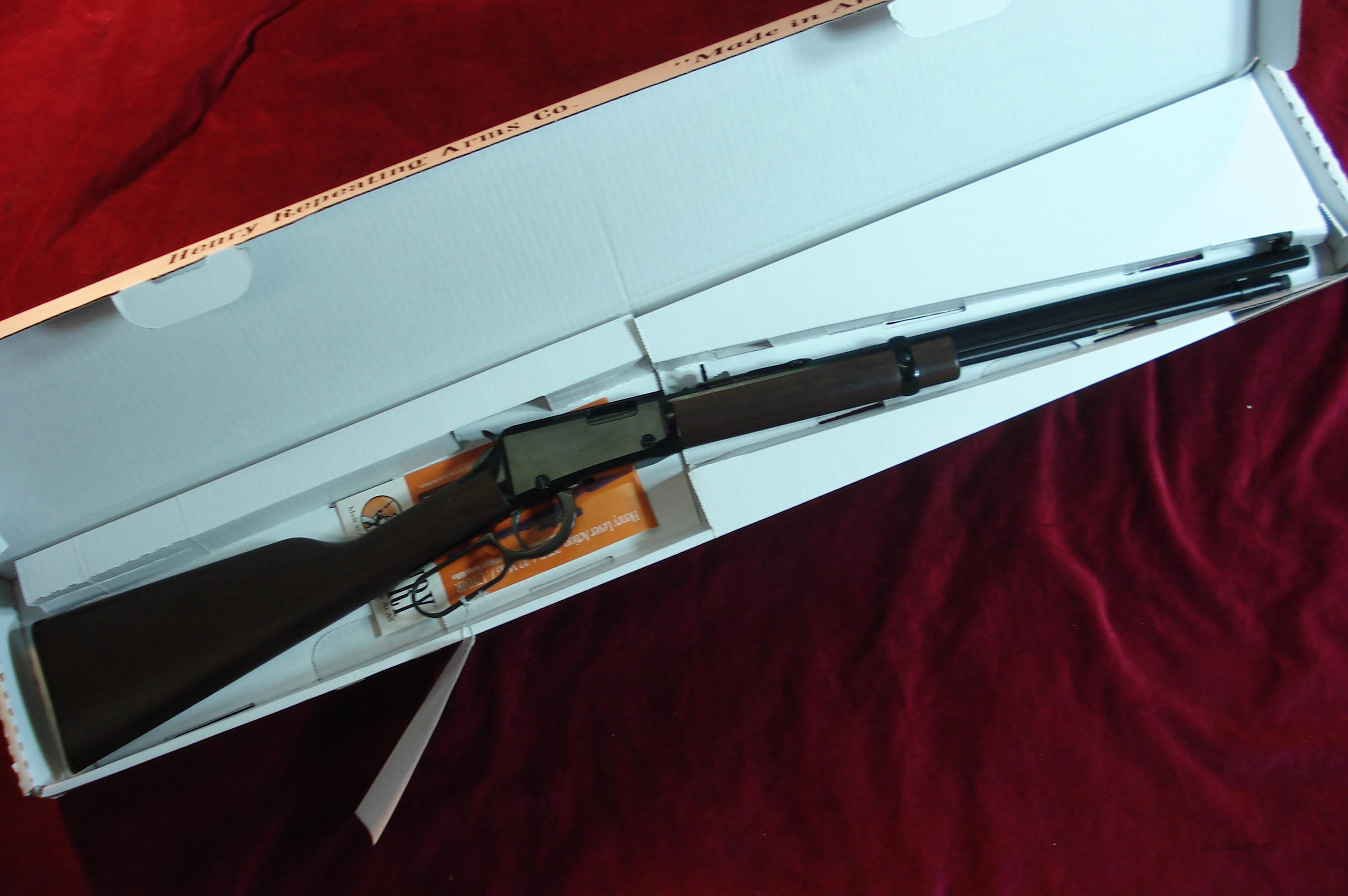 HENRY LEVER ACTION OCTAGON BARREL .22 CAL. NEW  Guns > Rifles > Henry Rifle Company