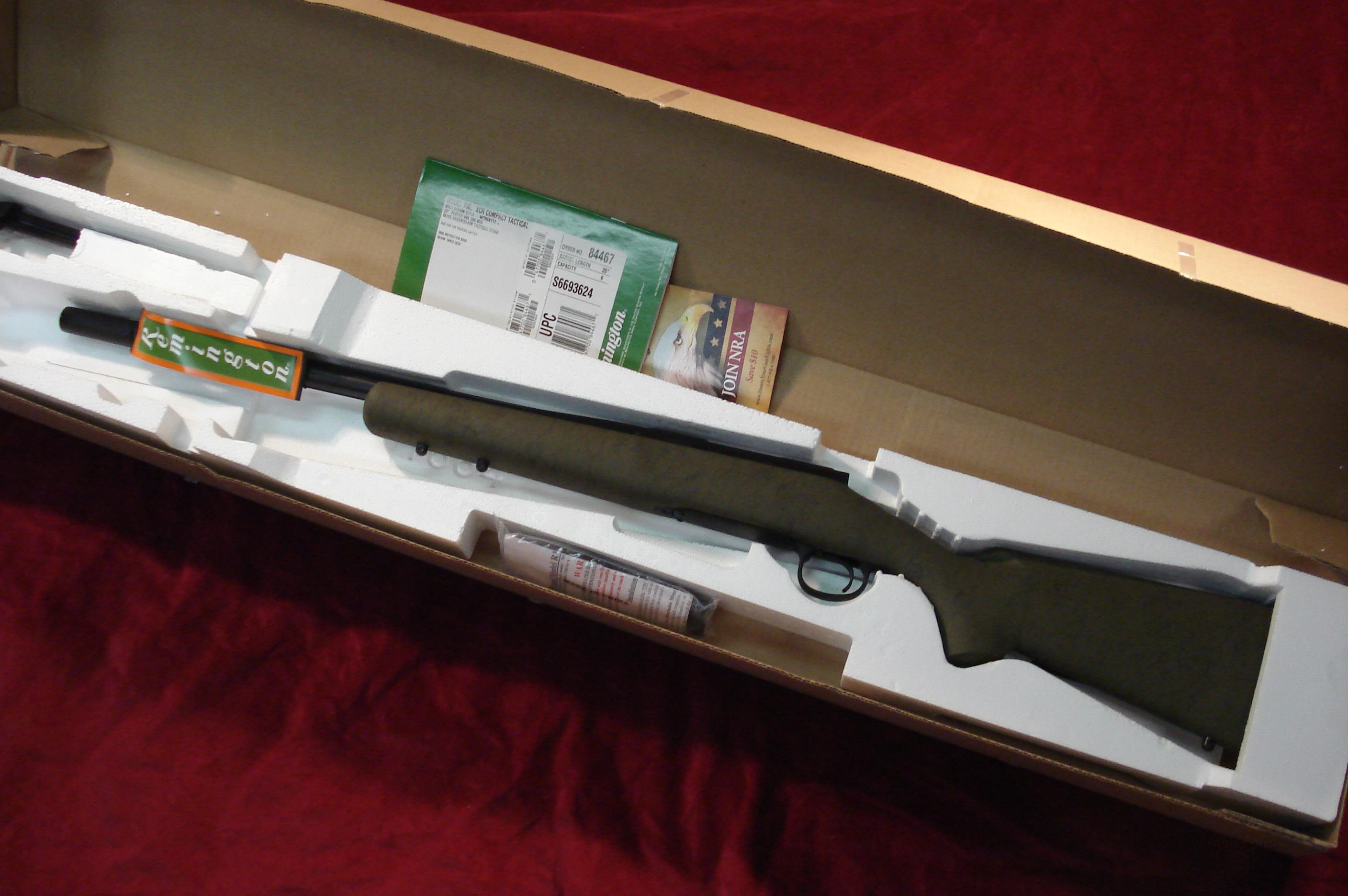REMINGTON 700 XCR COMPACT TACTICAL RIFLE .308CAL NEW   Guns > Rifles > Remington Rifles - Modern > Model 700 > Tactical