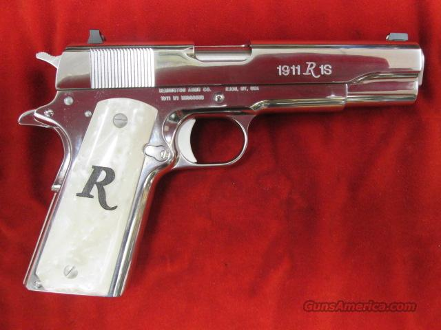 REMINGTON R1 HIGH POLISH STAINLESS 45ACP NEW  Guns > Pistols > Remington Pistols - Modern