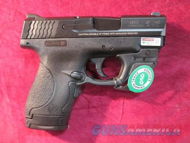 SMITH AND WESSON SHIELD 40CAL W/ CRIMSON TRACE LASER NEW   Guns > Pistols > Smith & Wesson Pistols - Autos > Polymer Frame