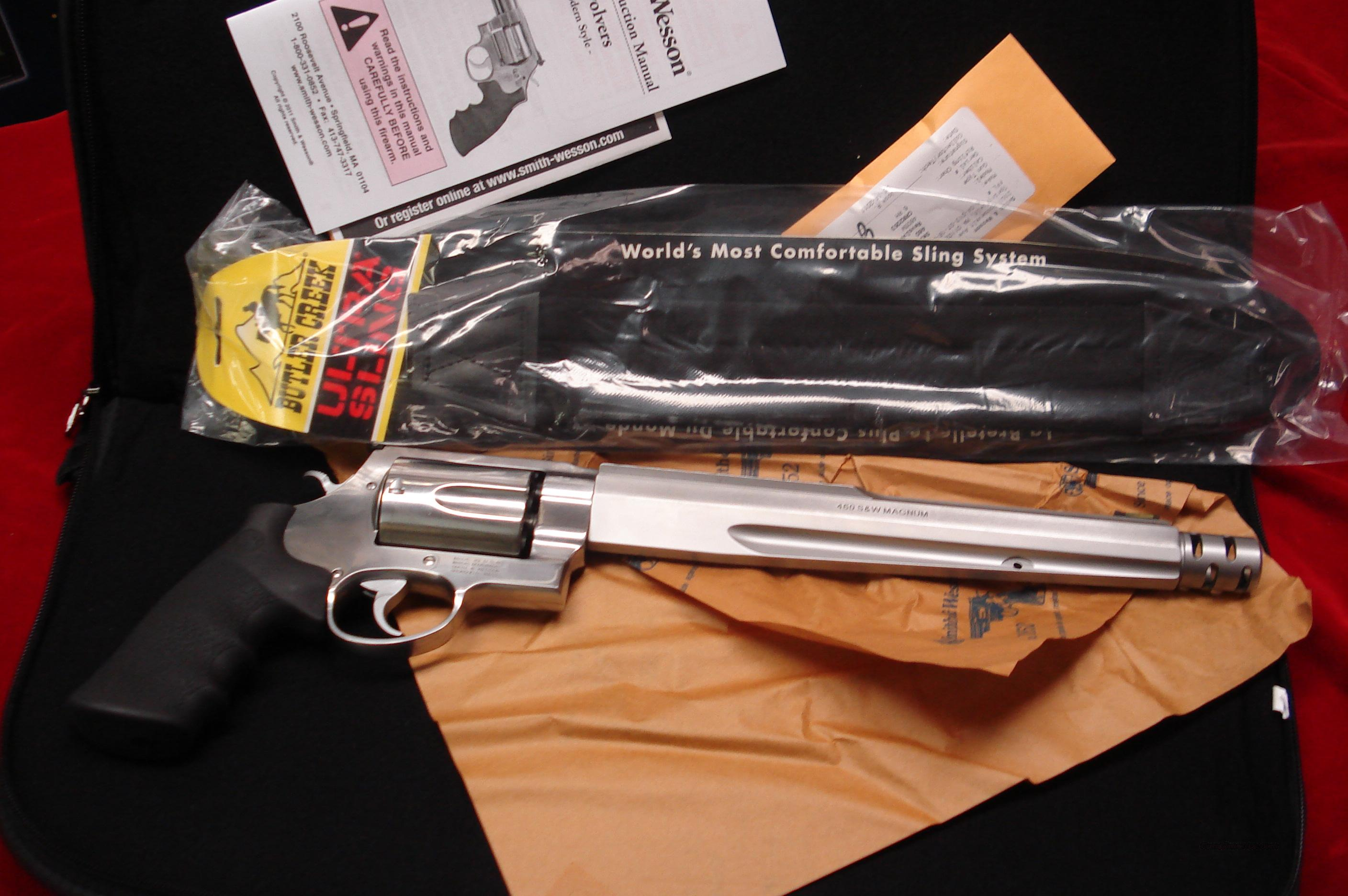 "SMITH AND WESSON PERFORMANCE CENTER 460XVR 10.5"" NEW  Guns > Pistols > Smith & Wesson Revolvers > Performance Center"