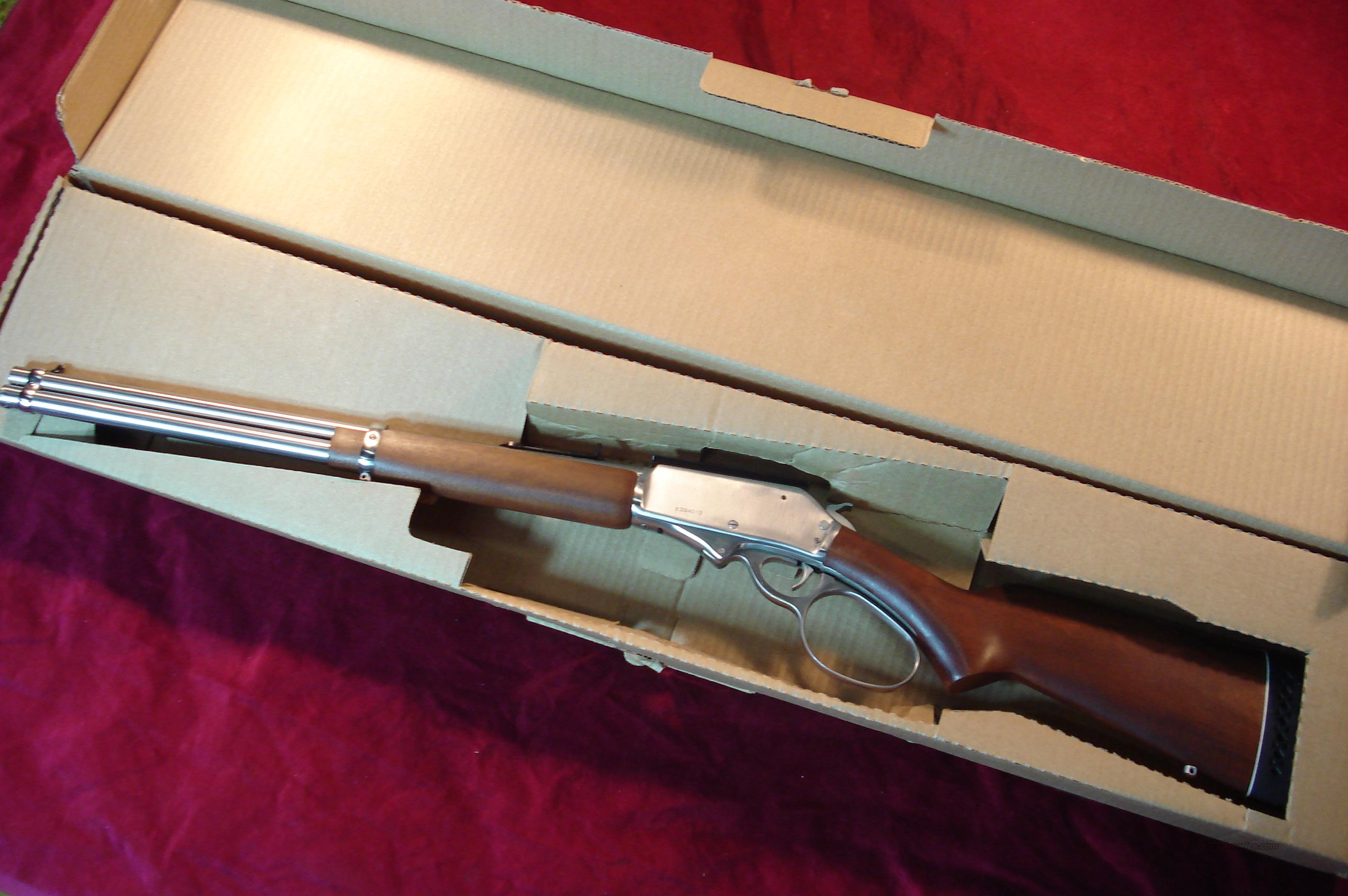 ROSSI RIO GRANDE 45-70 CAL. STAINLESS LARGE LOOP NEW  Guns > Rifles > Rossi Rifles > Cowboy