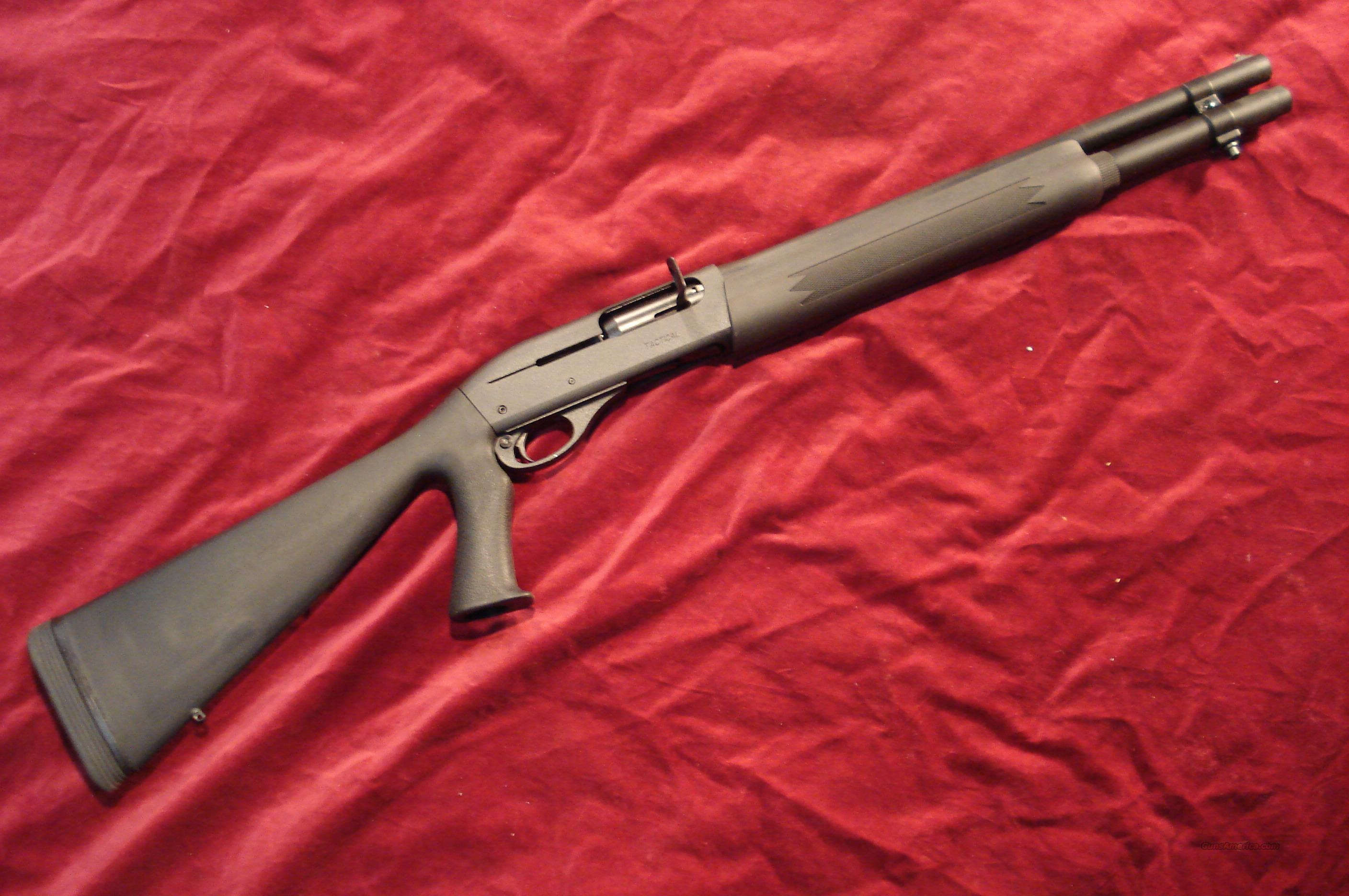 REMINGTON 1100 TACTICAL 12G W/MAG EXTENTION NEW  Guns > Shotguns > Remington Shotguns  > Autoloaders > Tactical