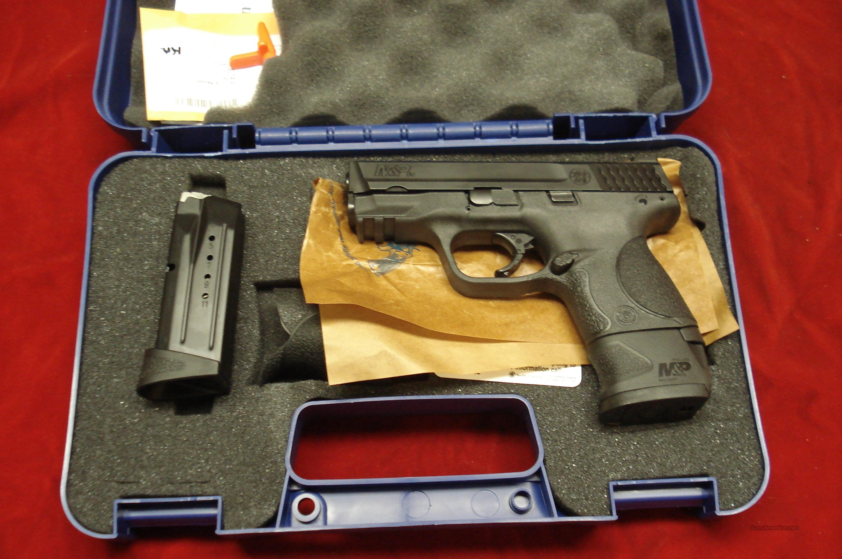 SMITH AND WESSON M&P COMPACT 9MM W/EXTENDED MAGAZINE NEW   Guns > Pistols > Smith & Wesson Pistols - Autos > Polymer Frame